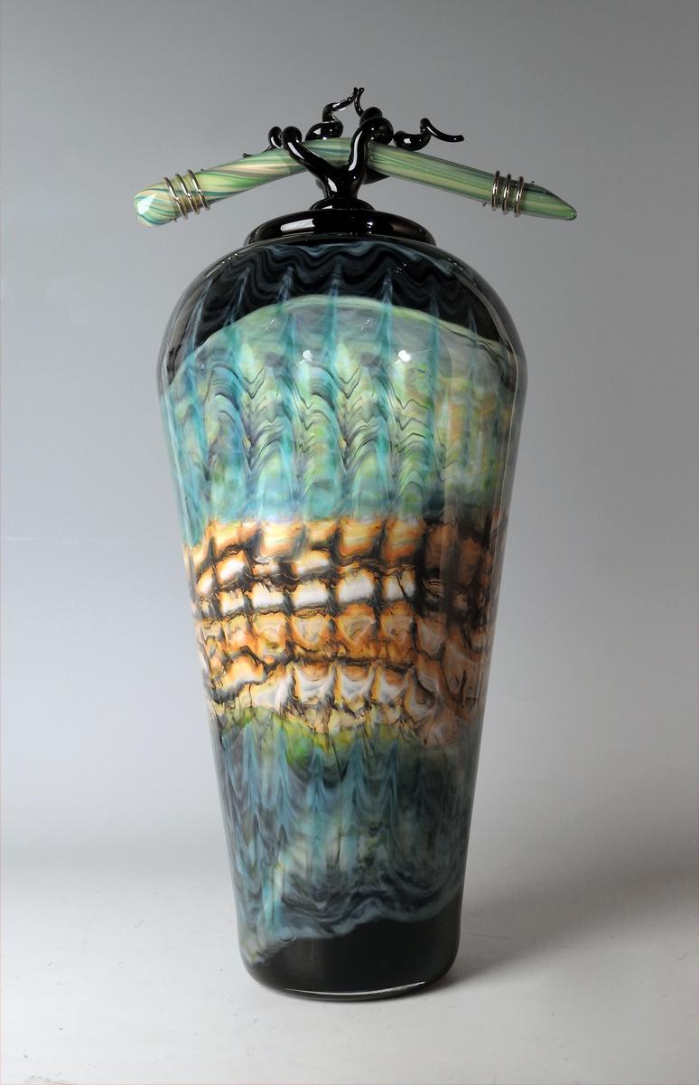Black Opal Covered Ja... by  Danielle Blade/Stephen Gartner - Masterpiece Online
