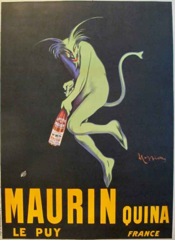 Maurin Quina - Green ... by  Leonetto Cappiello - Masterpiece Online