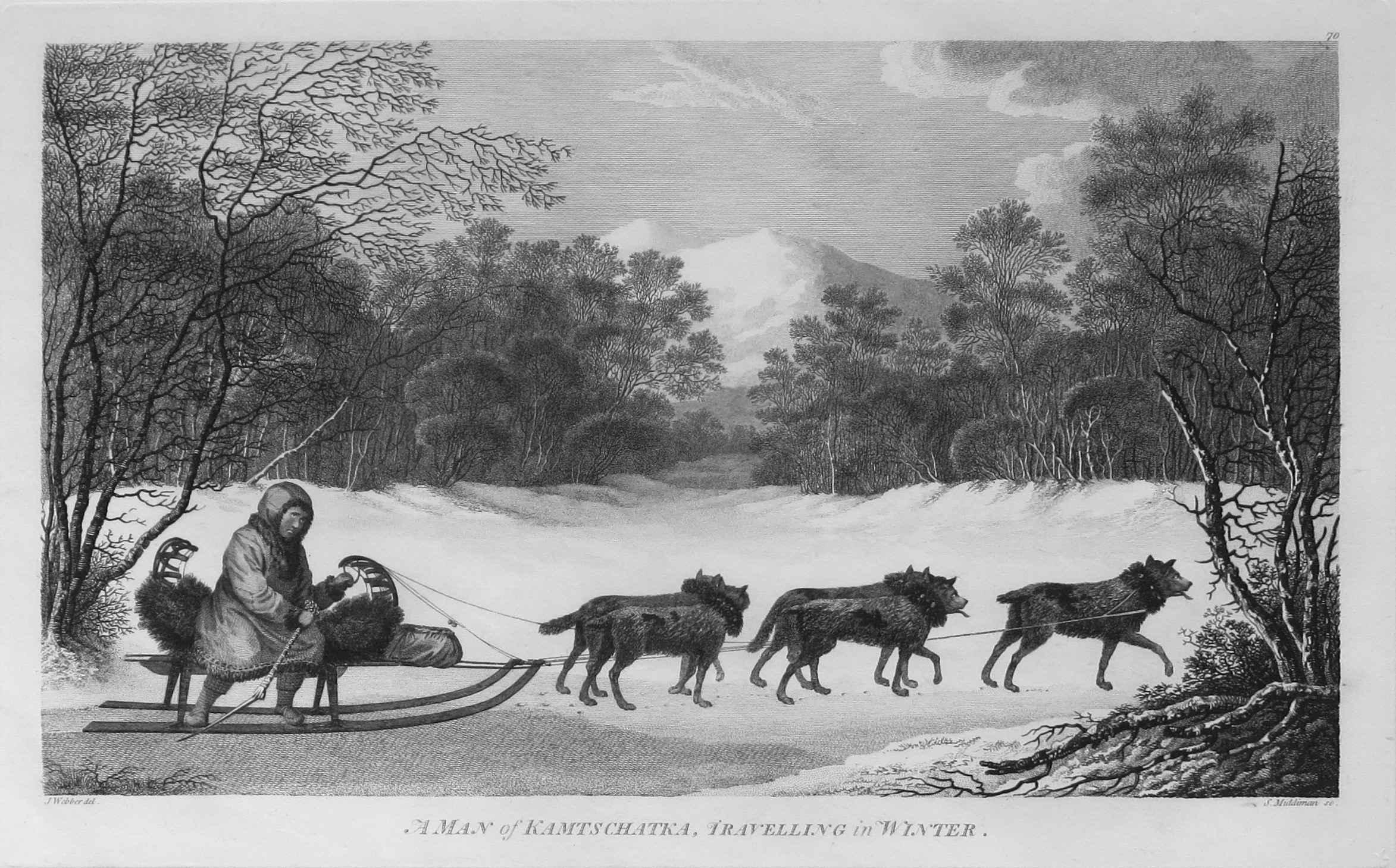 A Man of Kamtschatka ... by  John Webber (1752-1793) - Masterpiece Online