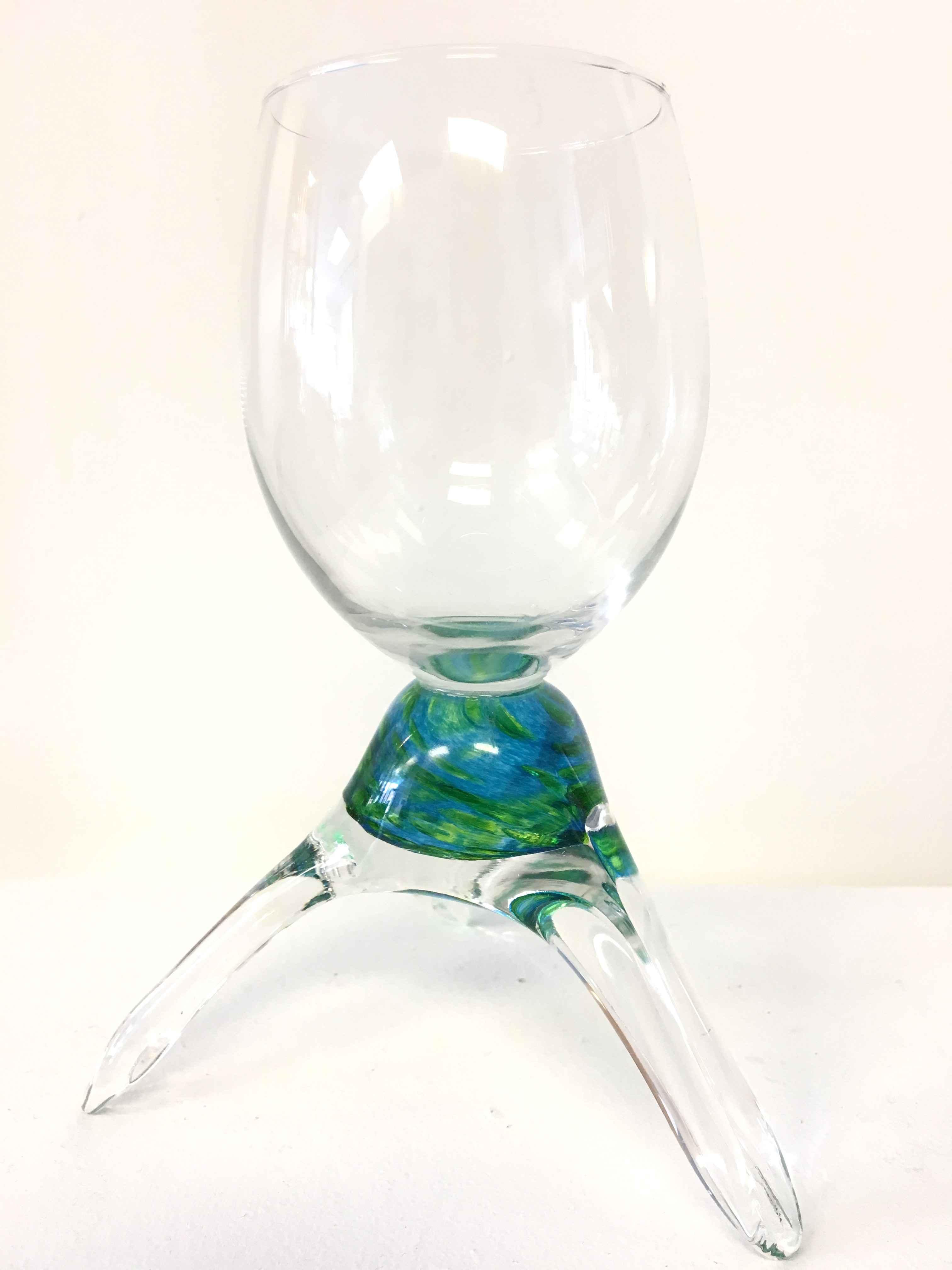 Tanya Wine Glass by  Tanya Zaryski - Masterpiece Online