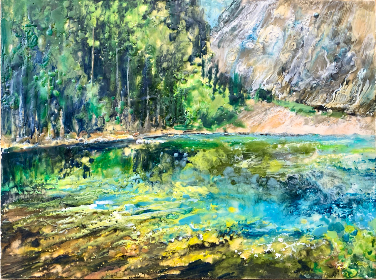 Grassi Lake by  Kathy Bradshaw - Masterpiece Online