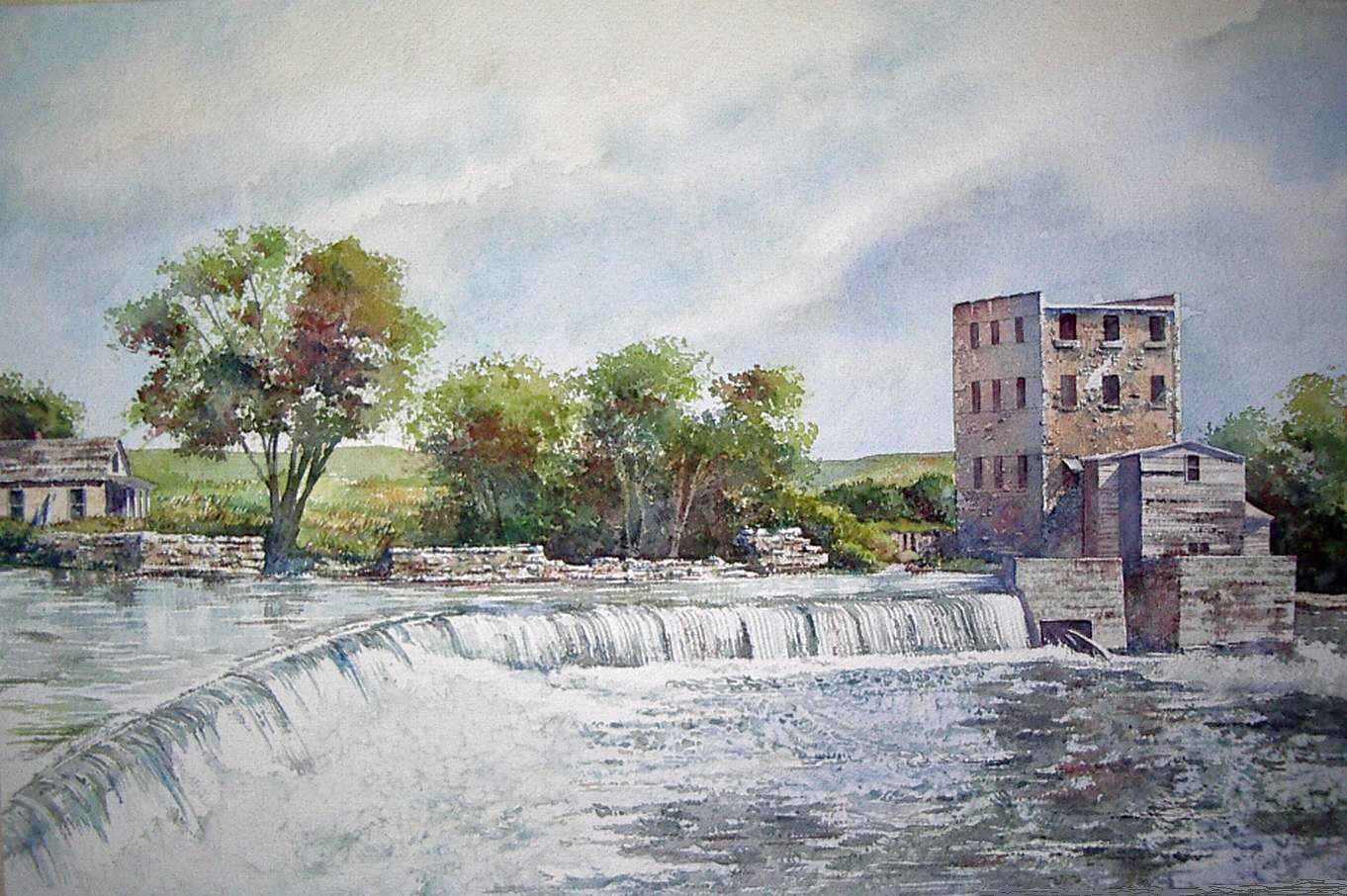 The Rocky Ford by  Ralph Fontenot - Masterpiece Online
