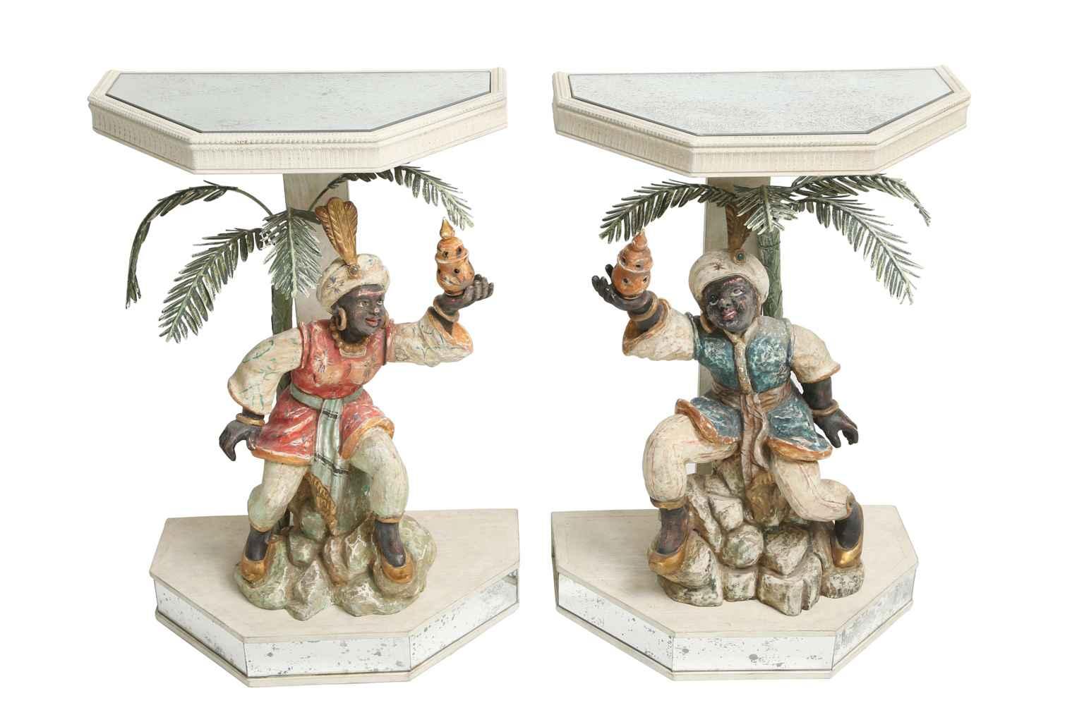 Pair of Venetian Figu... by  Italian  - Masterpiece Online