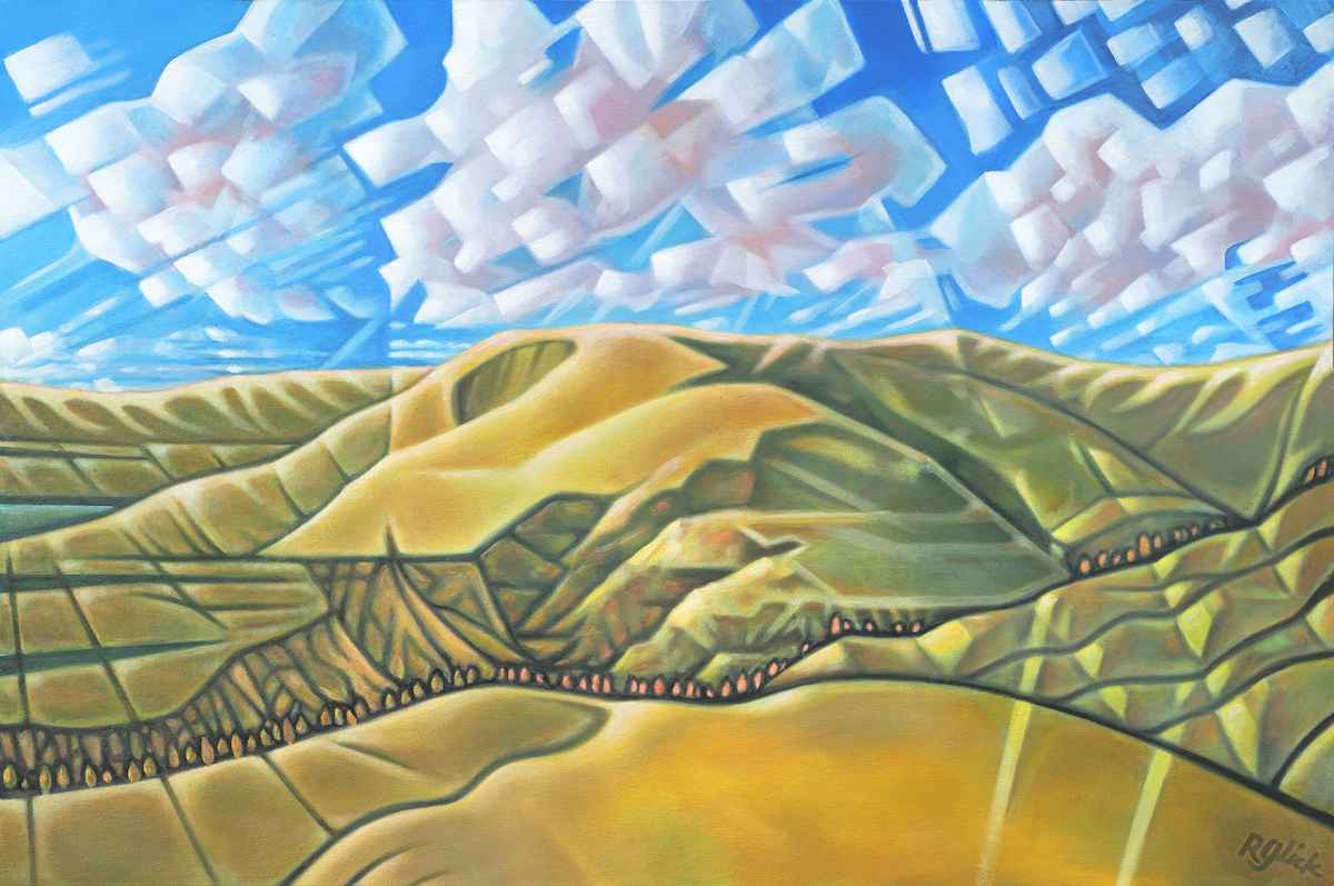 Clouds and Canyon by  Robert Glick - Masterpiece Online