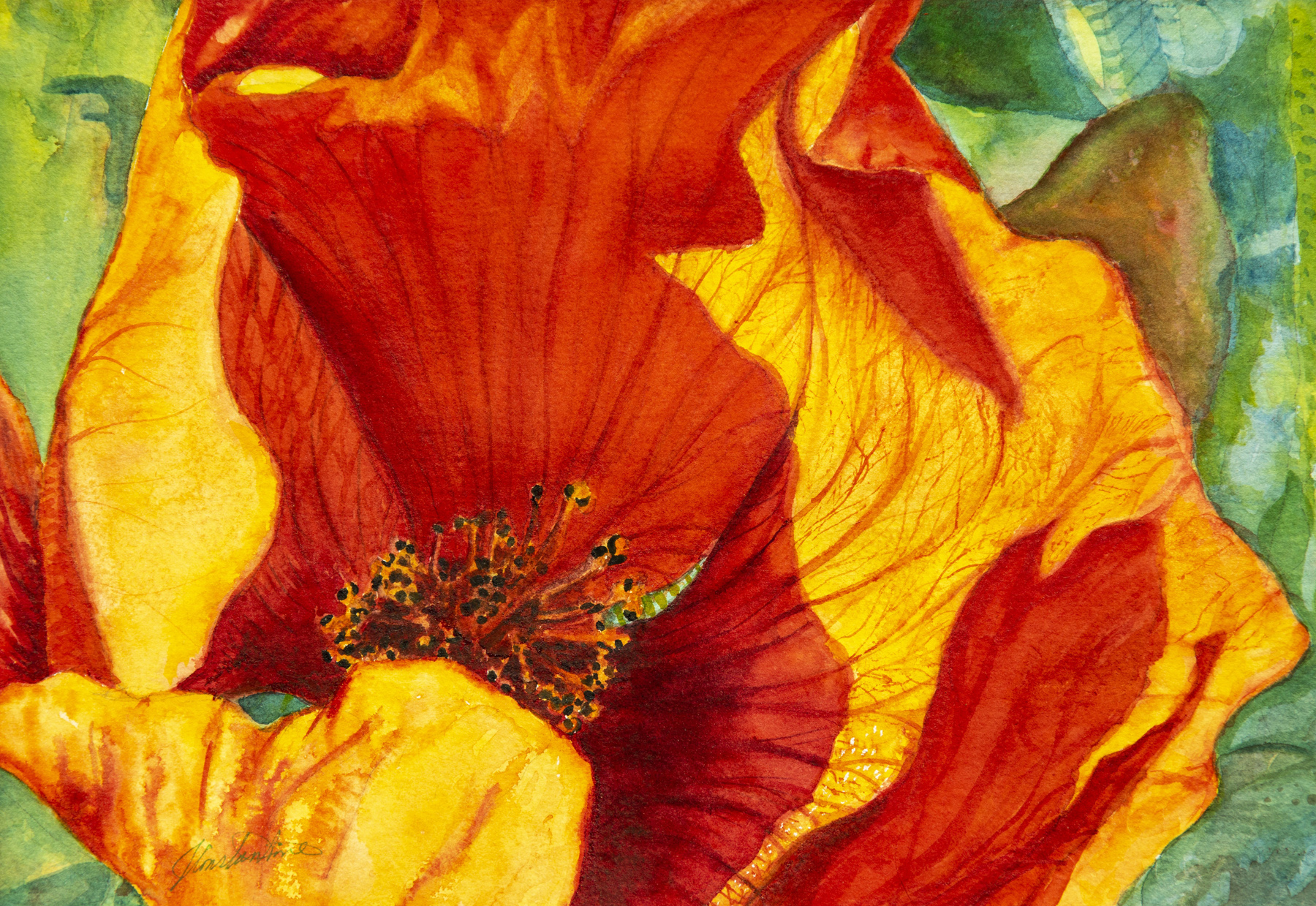 Come Hither Poppy by  Judy Constantine - Masterpiece Online