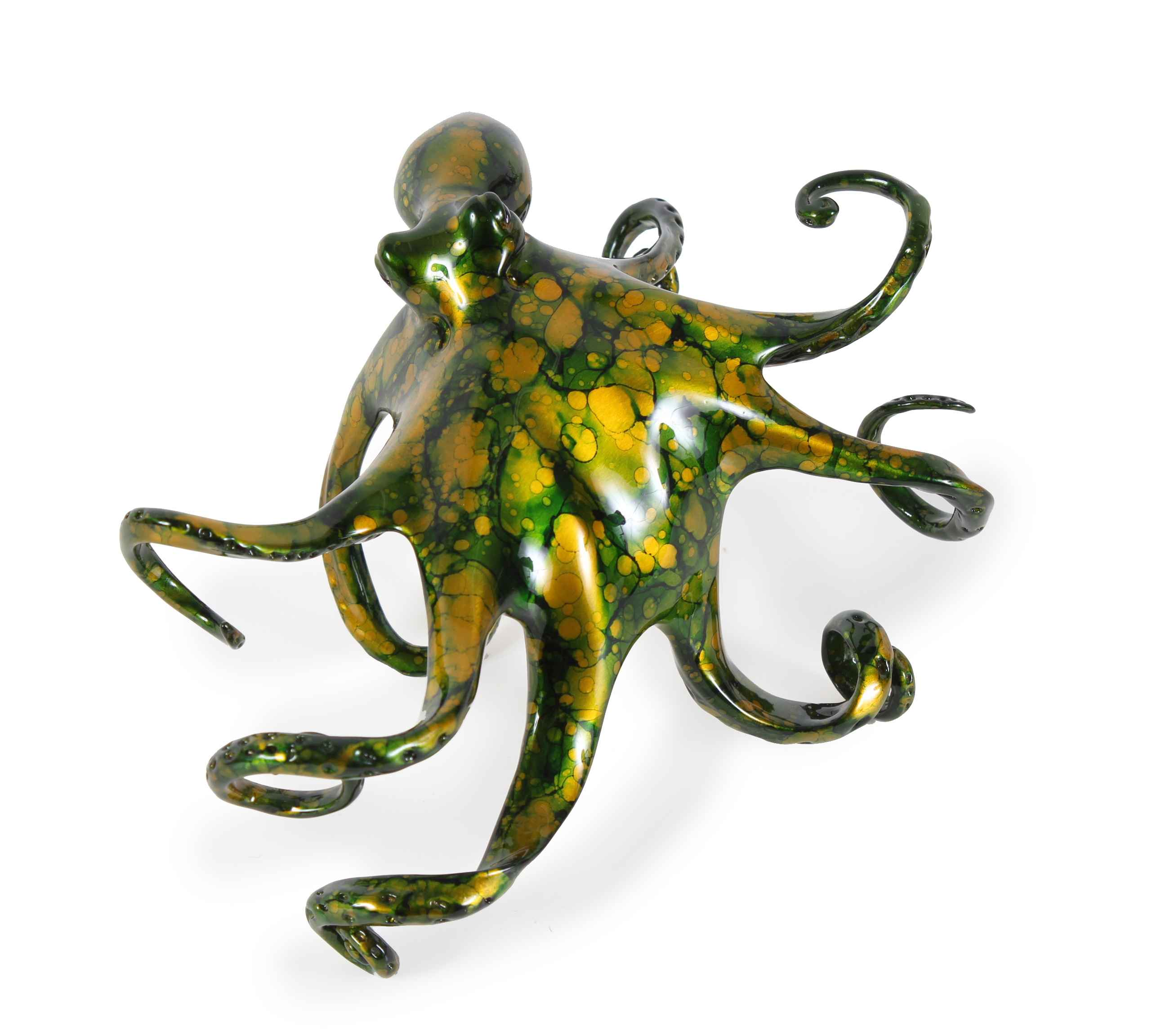 Large Green Octopus