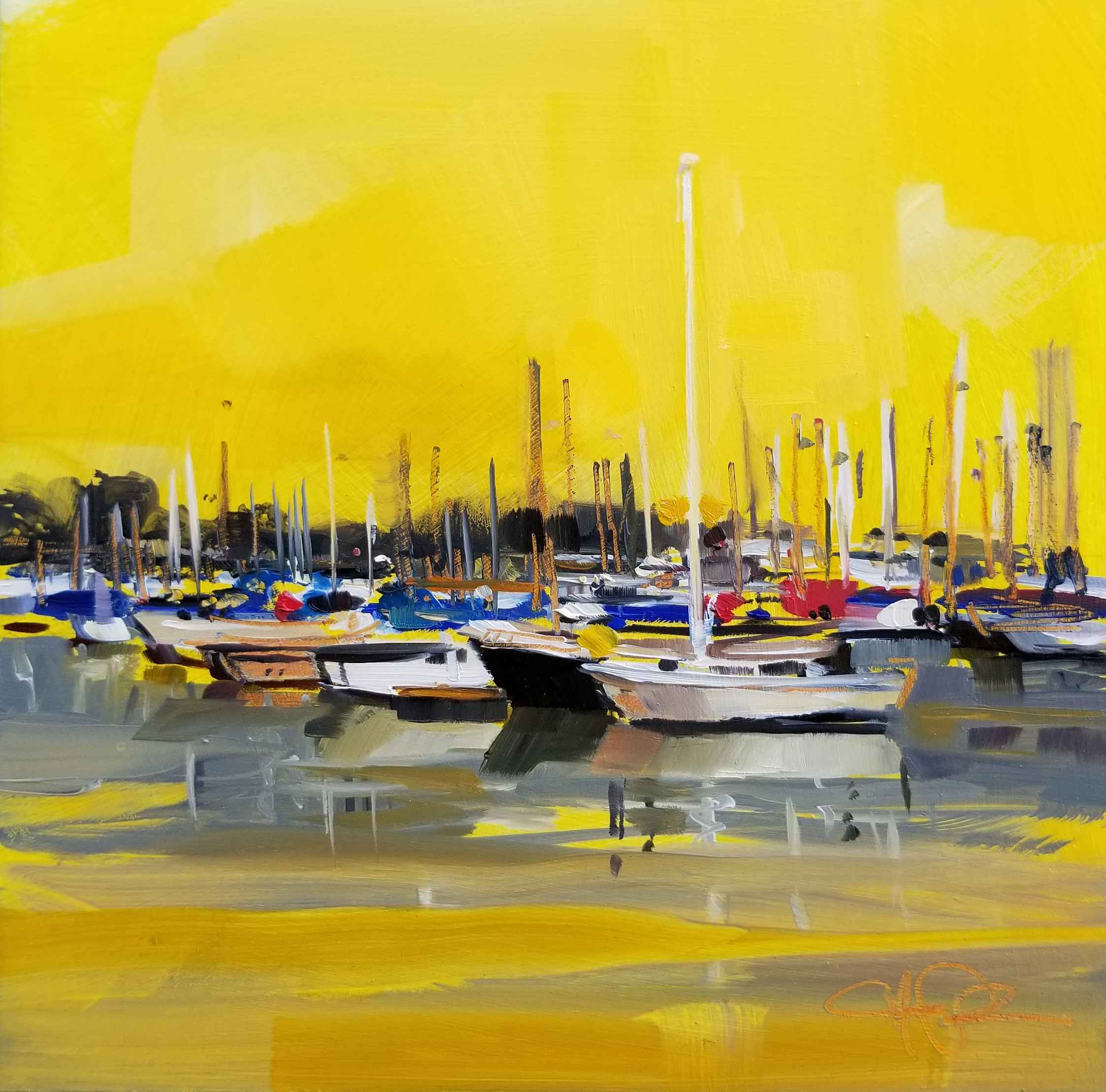 Old Fisherman's Wharf by Ms. Cristall Harper - Masterpiece Online