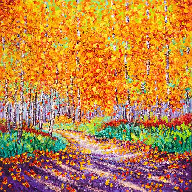 Imagining Autumn by  Kimberly Adams - Masterpiece Online
