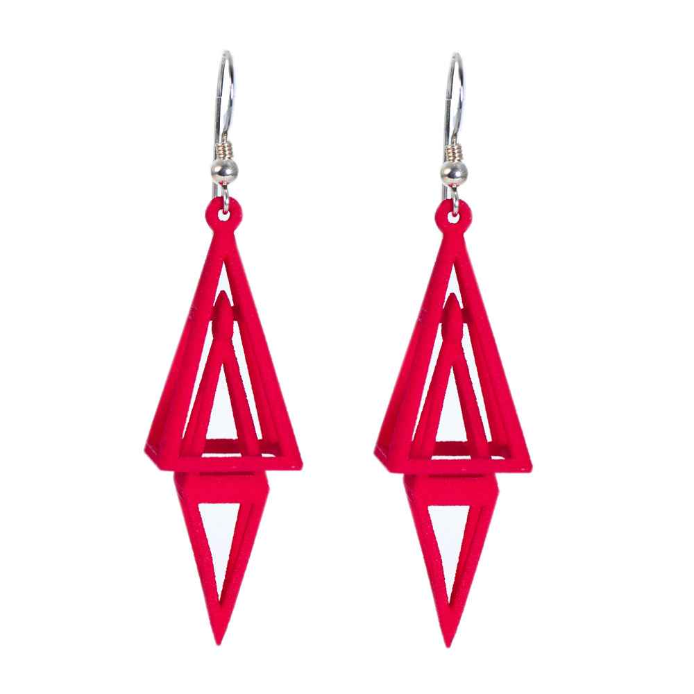 Pyramid Earrings by   Metallicity Jewellry Design - Masterpiece Online