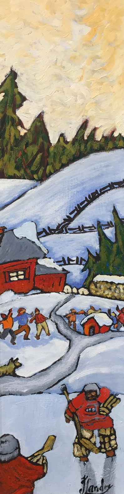 Retour de L'Ecole Enc... by Ms Johane Landry - Masterpiece Online