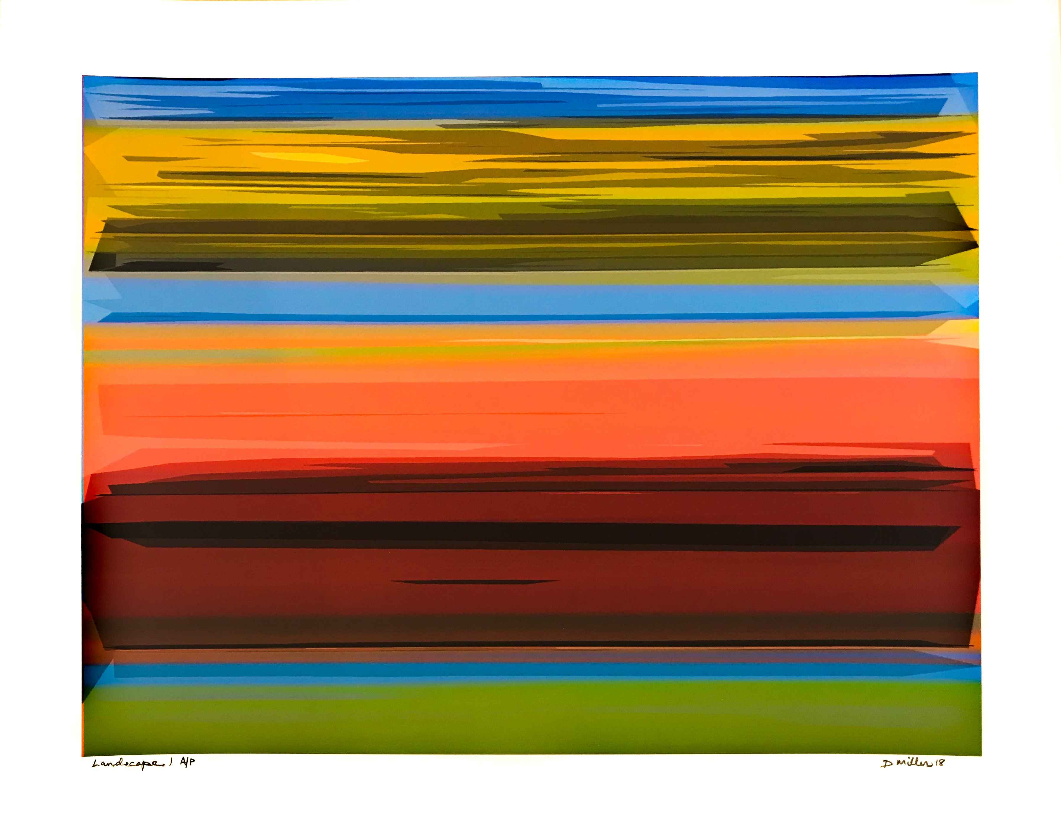 Landscape by  David Miller - Masterpiece Online