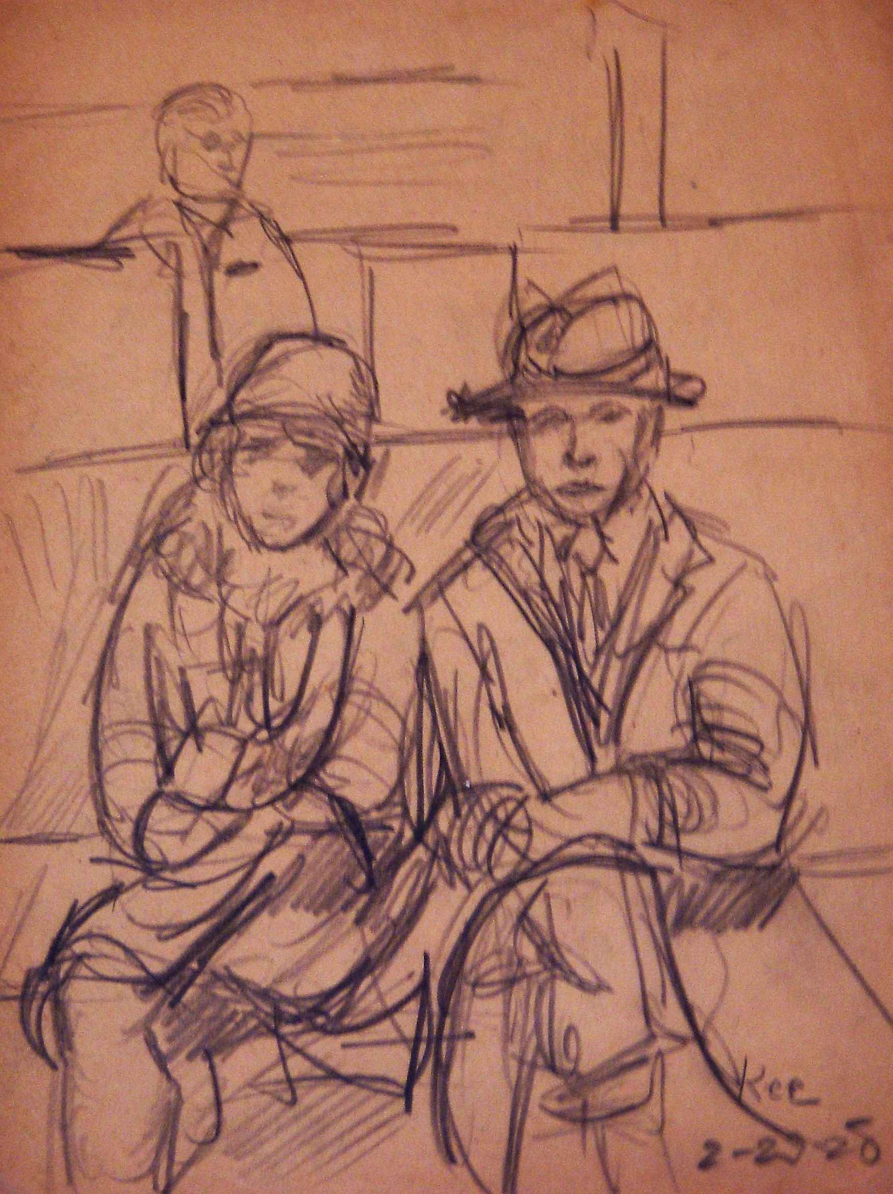 Unknown (Couple) by  Bue Kee - Masterpiece Online