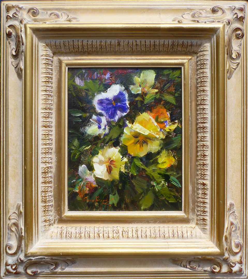 Pansies by Mr. Cyrus Afsary - Masterpiece Online