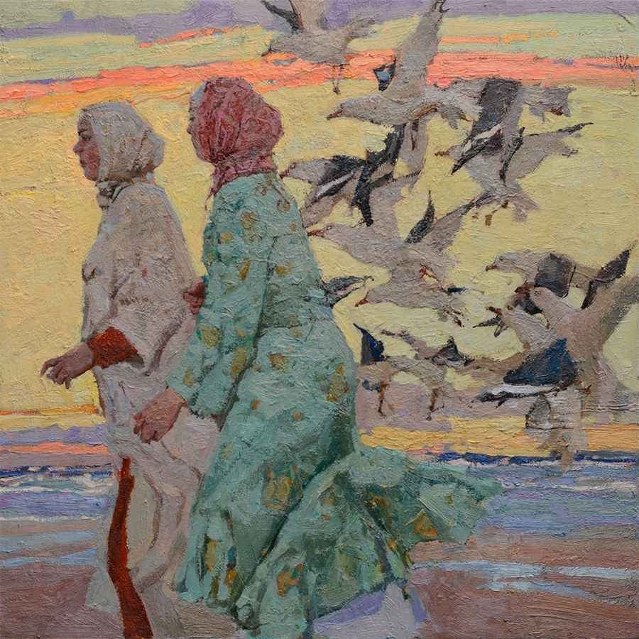 Companionship by  Daud Akhriev - Masterpiece Online