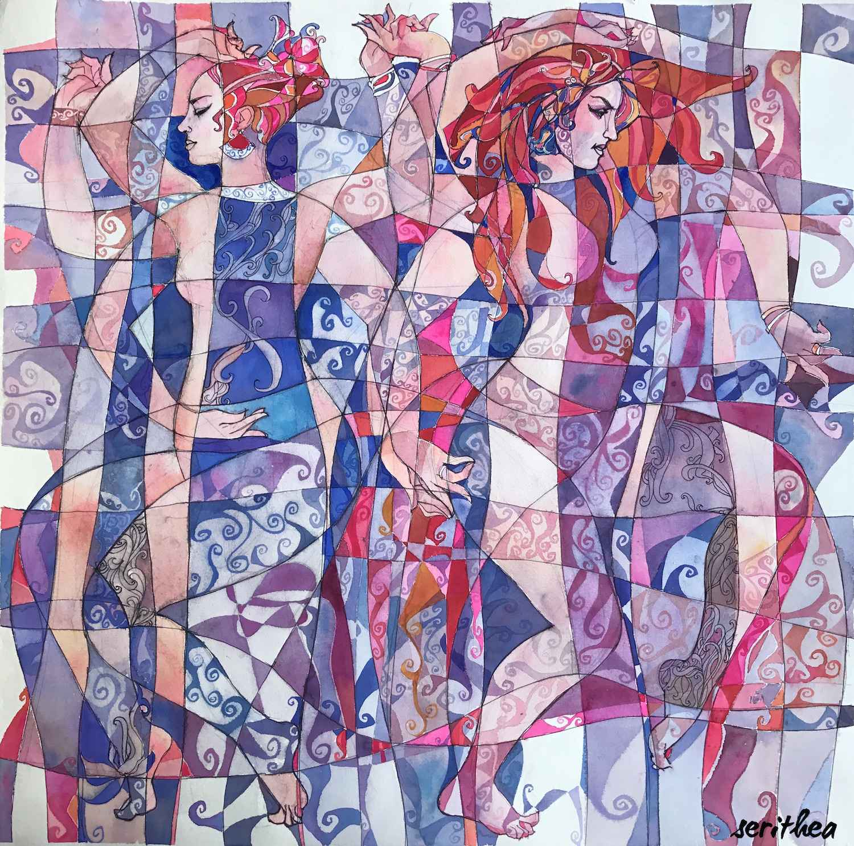 Duet Medium Wrap by  Daud Akhriev - Masterpiece Online