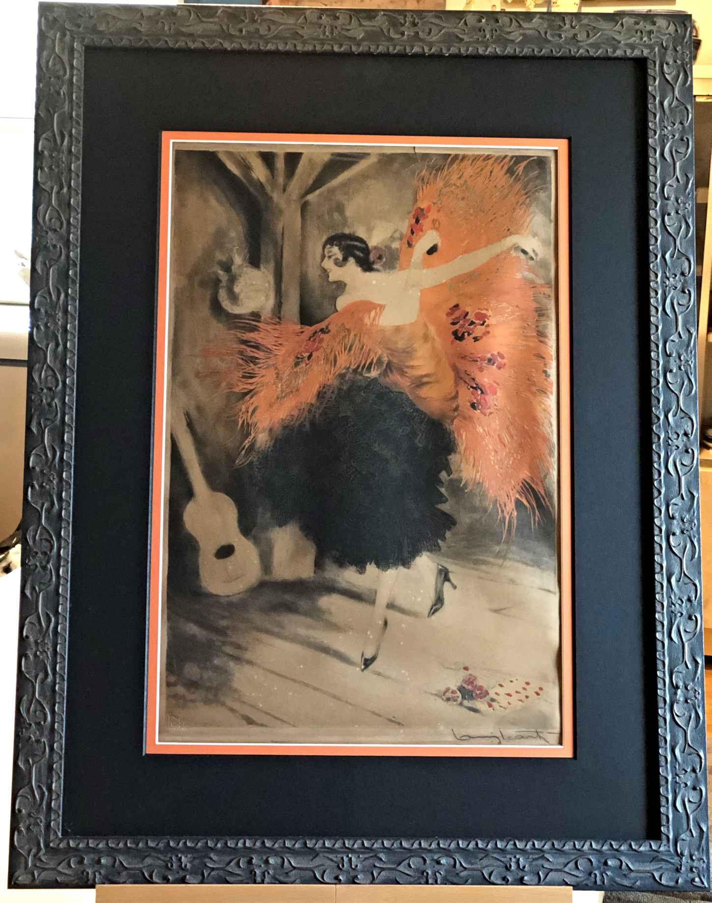 Spanish Dancer by  Louis Icart - Masterpiece Online
