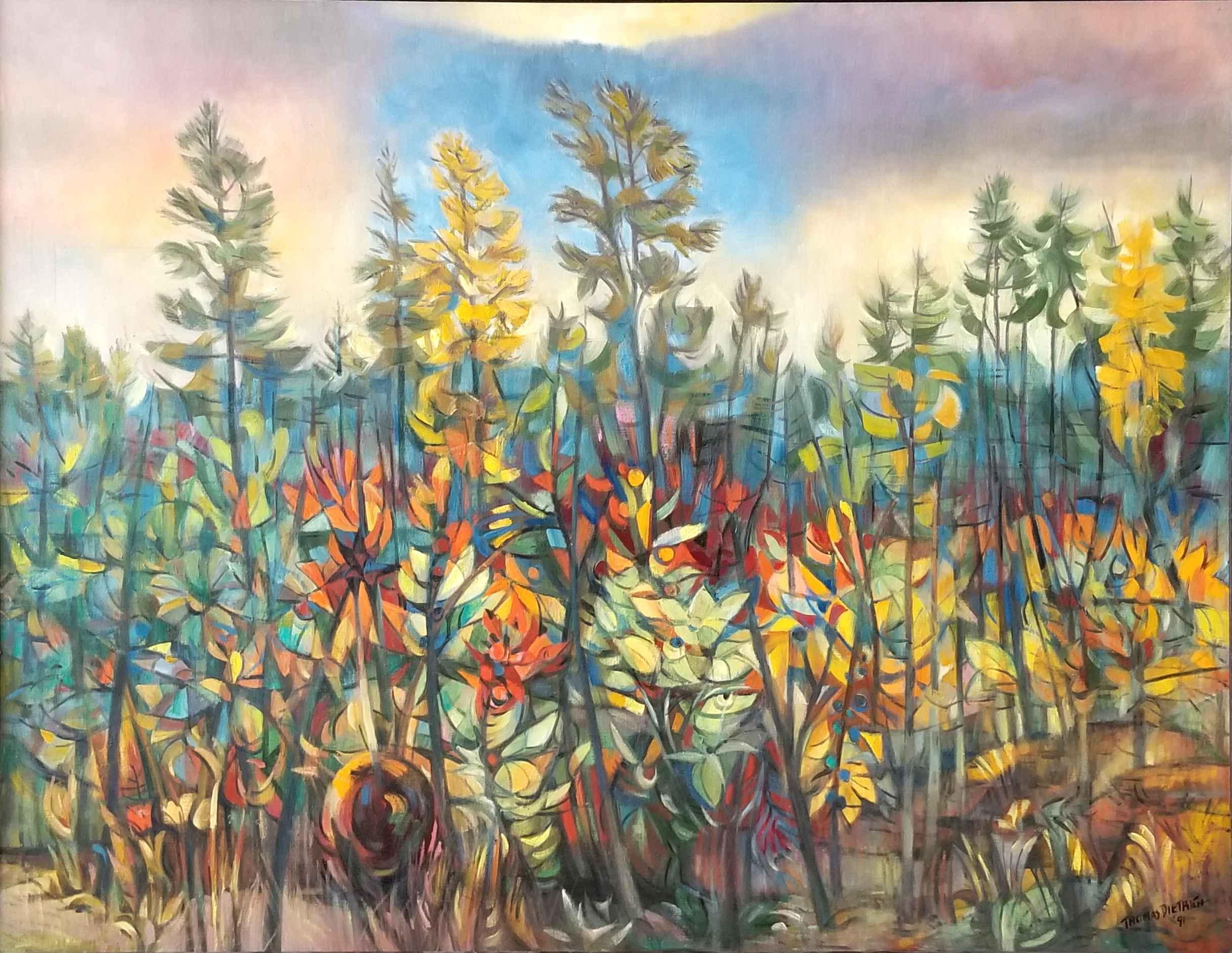 Edge of Woods by Mr. Tom Dietrich - Masterpiece Online