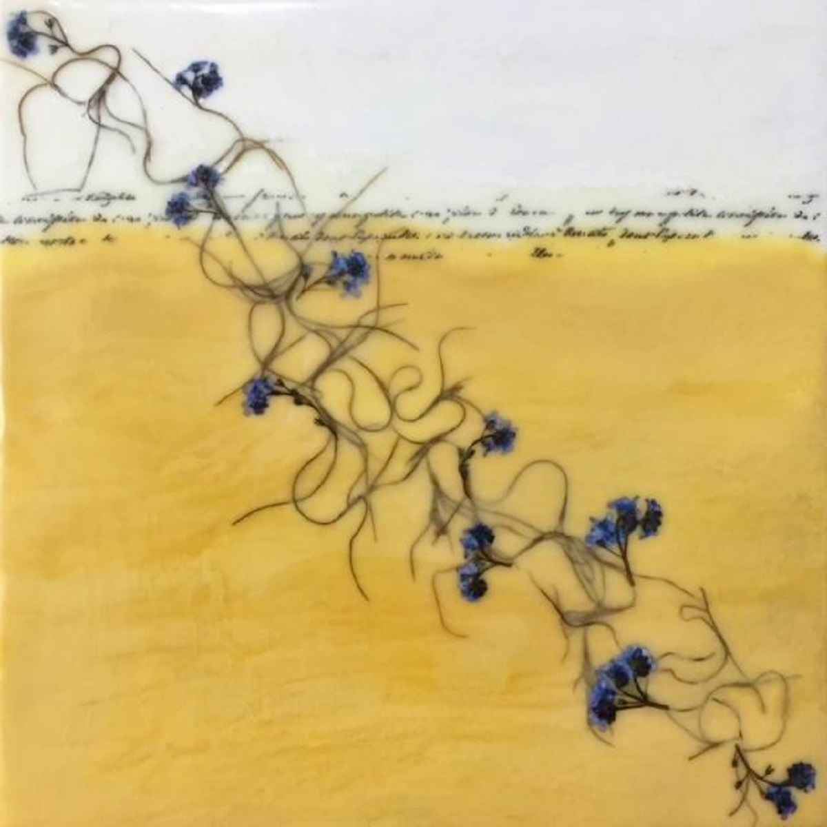 Forget Me Not and Spa... by  Elizabeth Garrett - Masterpiece Online