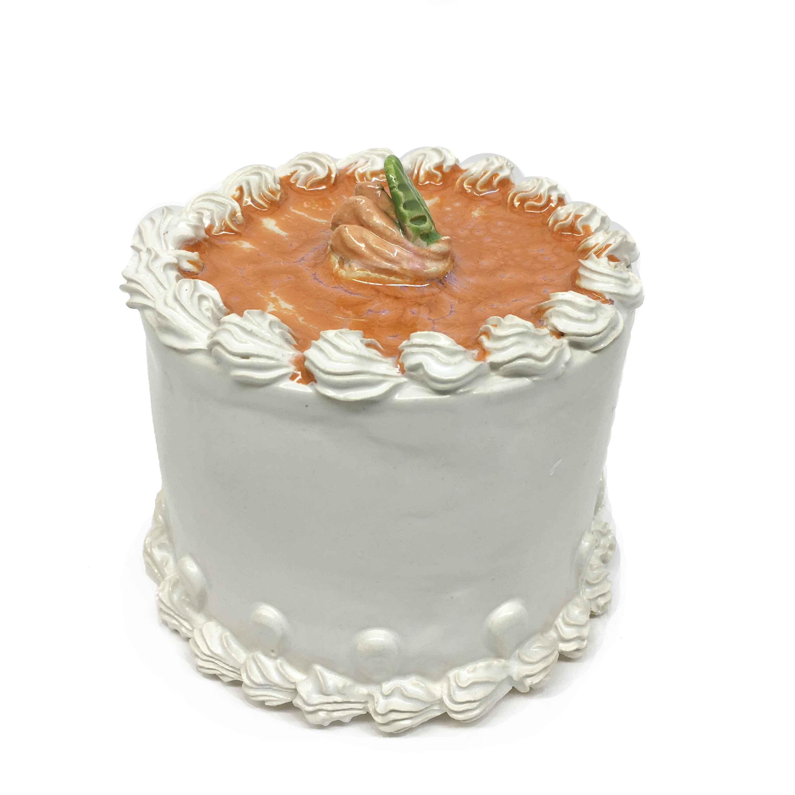 Orange Cake With Rose...  by  Jeff Nebeker