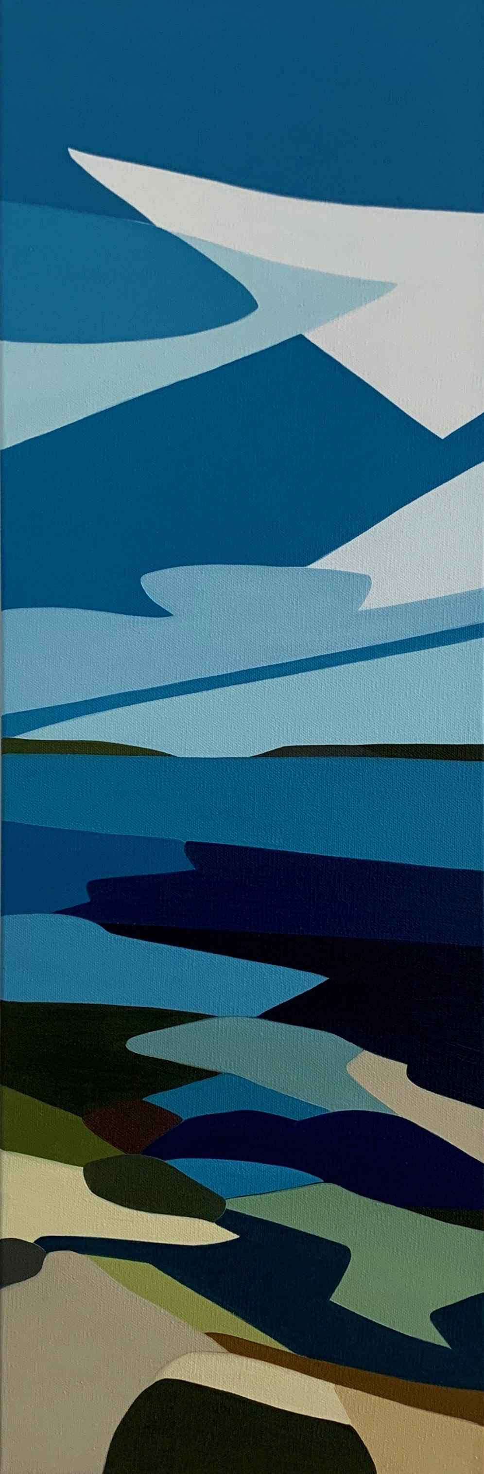 Sea and Sky by  Rachael Cassiani - Masterpiece Online