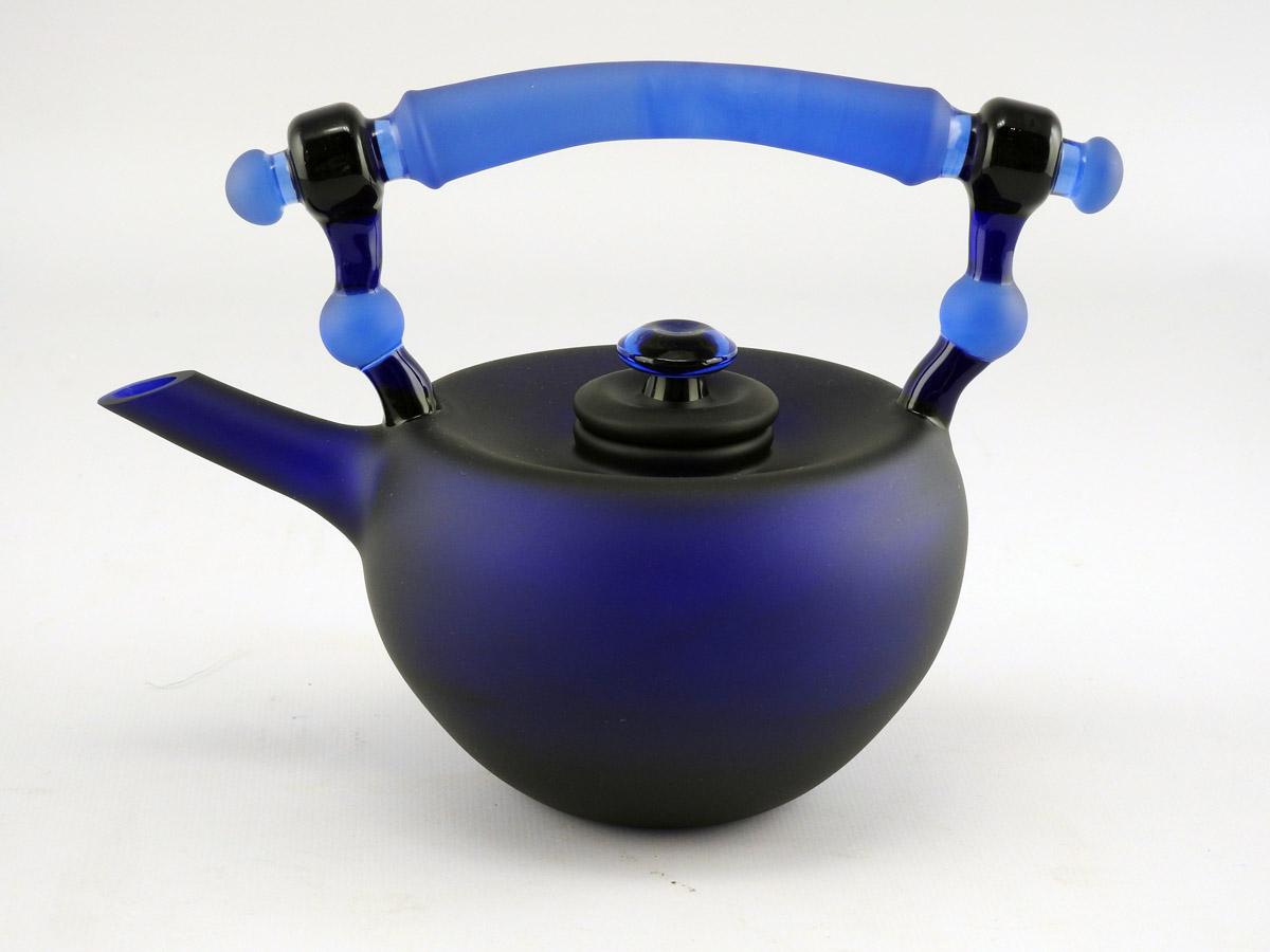 Teapot/Cobalt by  Jesse Whipkey - Masterpiece Online