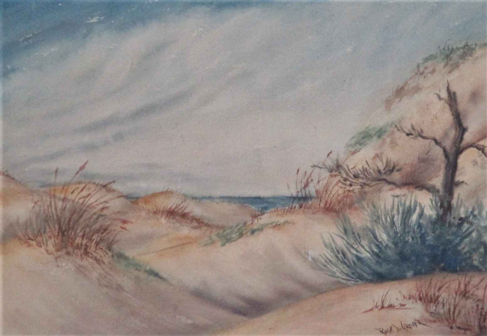 Unknown ( Seascape ) by  Ruth Grover - Masterpiece Online