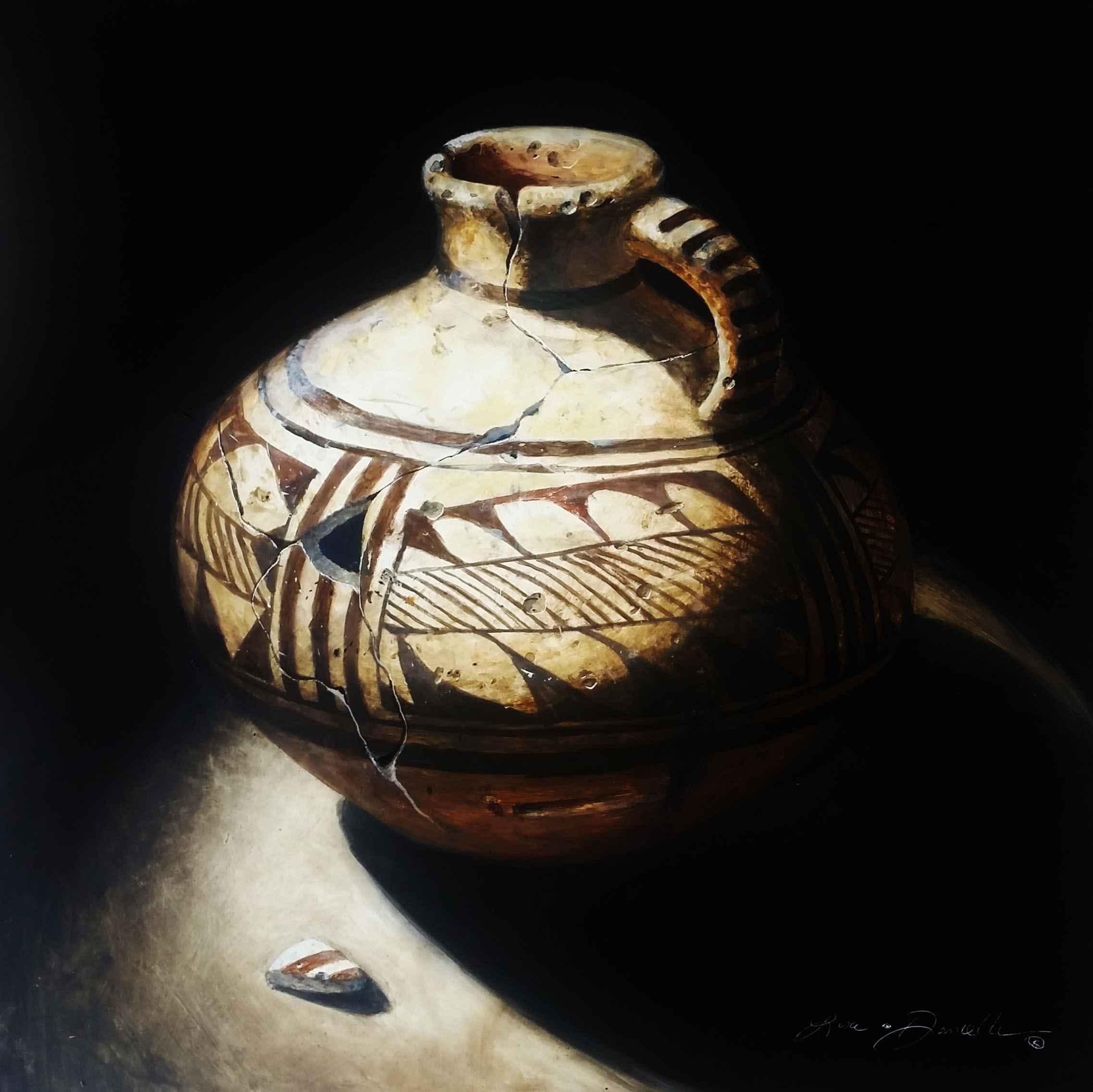 Ancient Anasazi Pitch... by  Lisa Danielle - Masterpiece Online