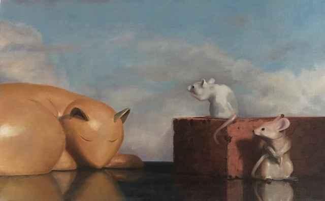 Hey, Cat! by  Terry Rafferty - Masterpiece Online