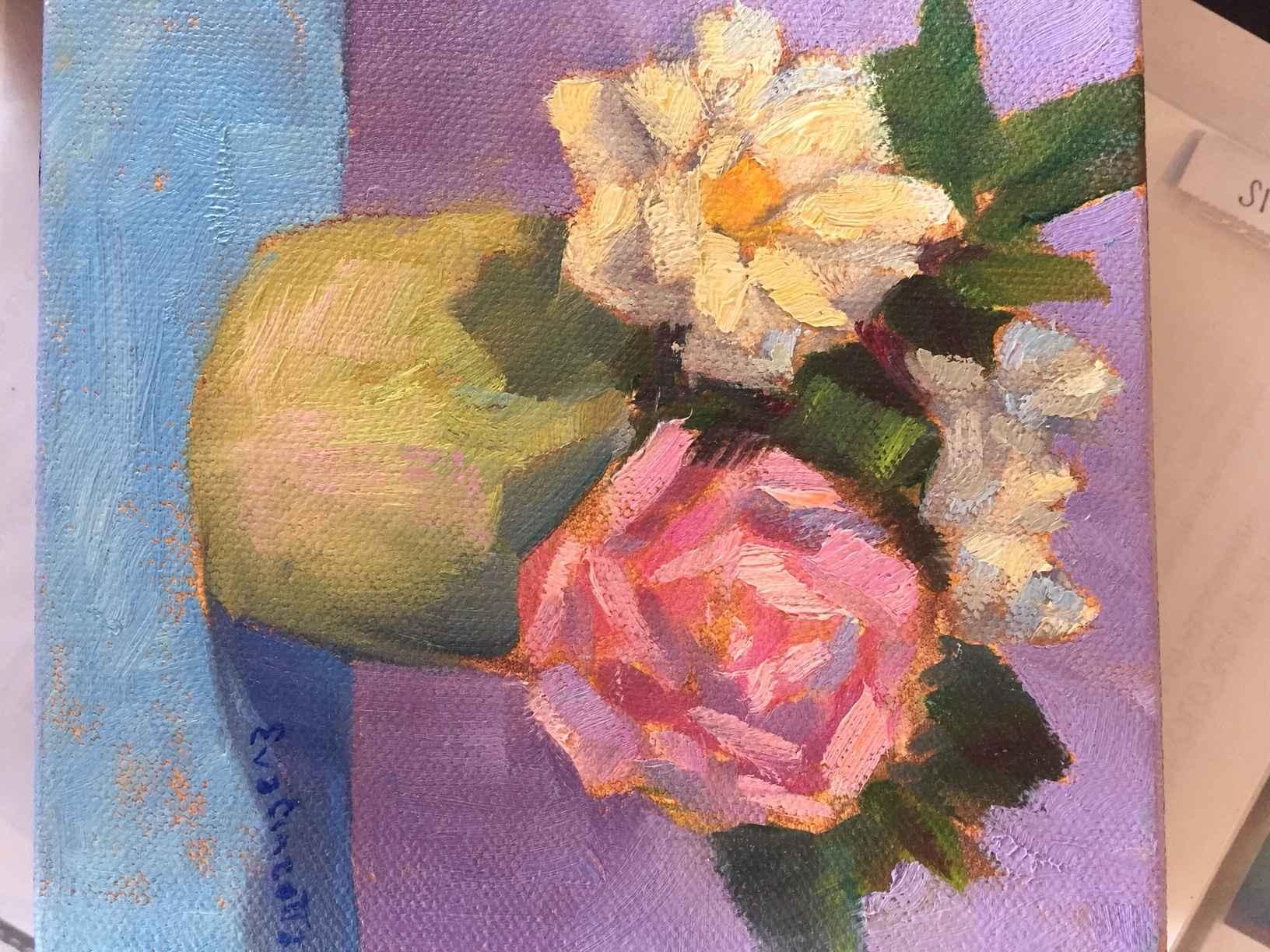 Cheery Bouquet by  Eva Cincotta - Masterpiece Online