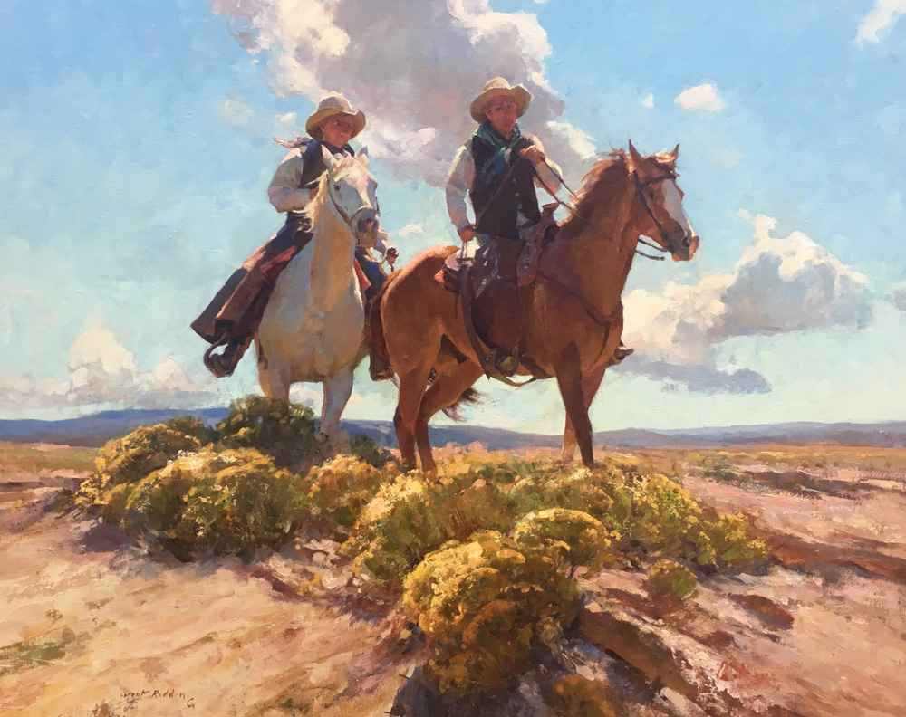 Wyoming Cowboys by  Grant Redden - Masterpiece Online