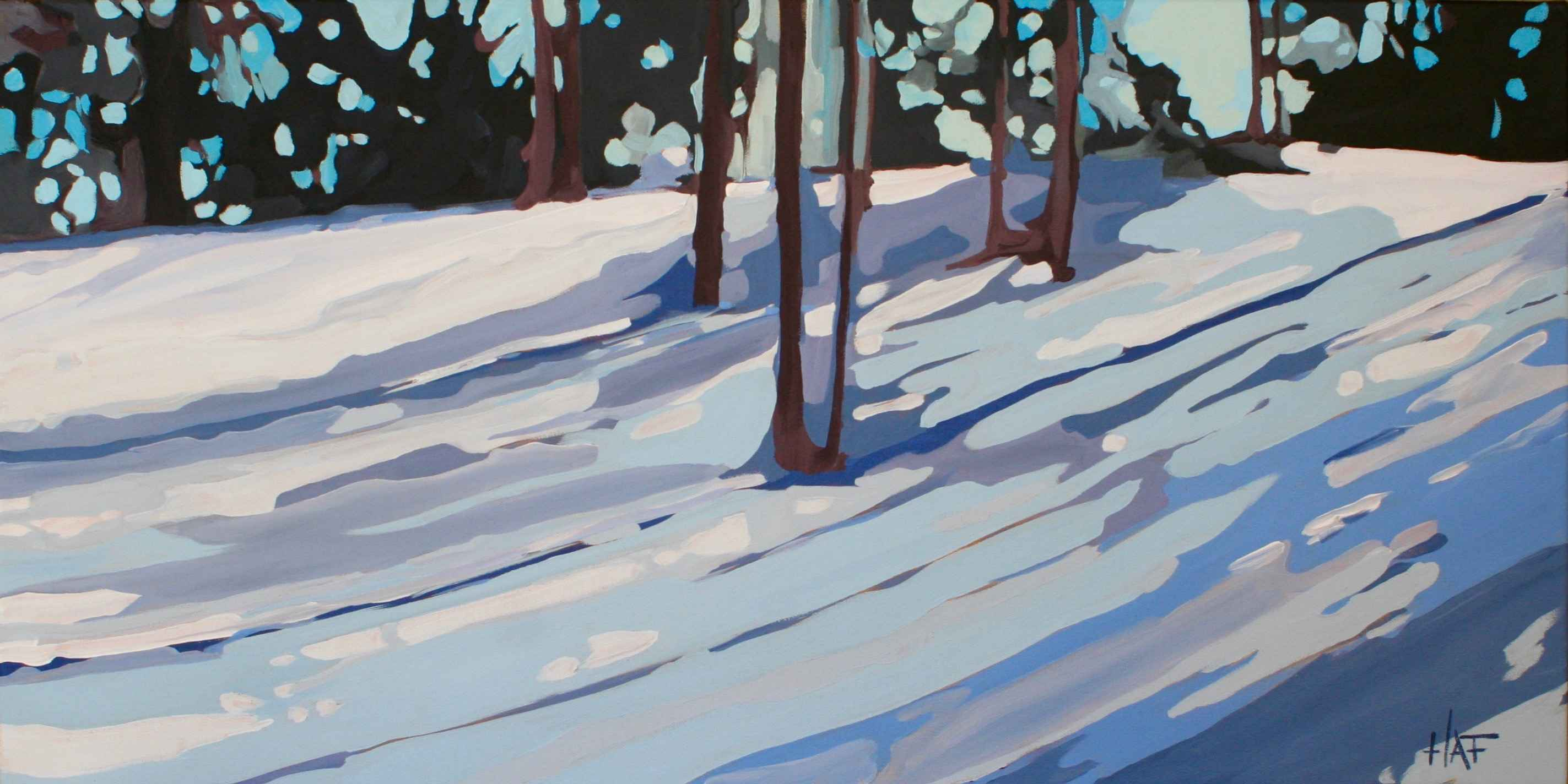 Winter Blues by  Holly Ann Friesen - Masterpiece Online