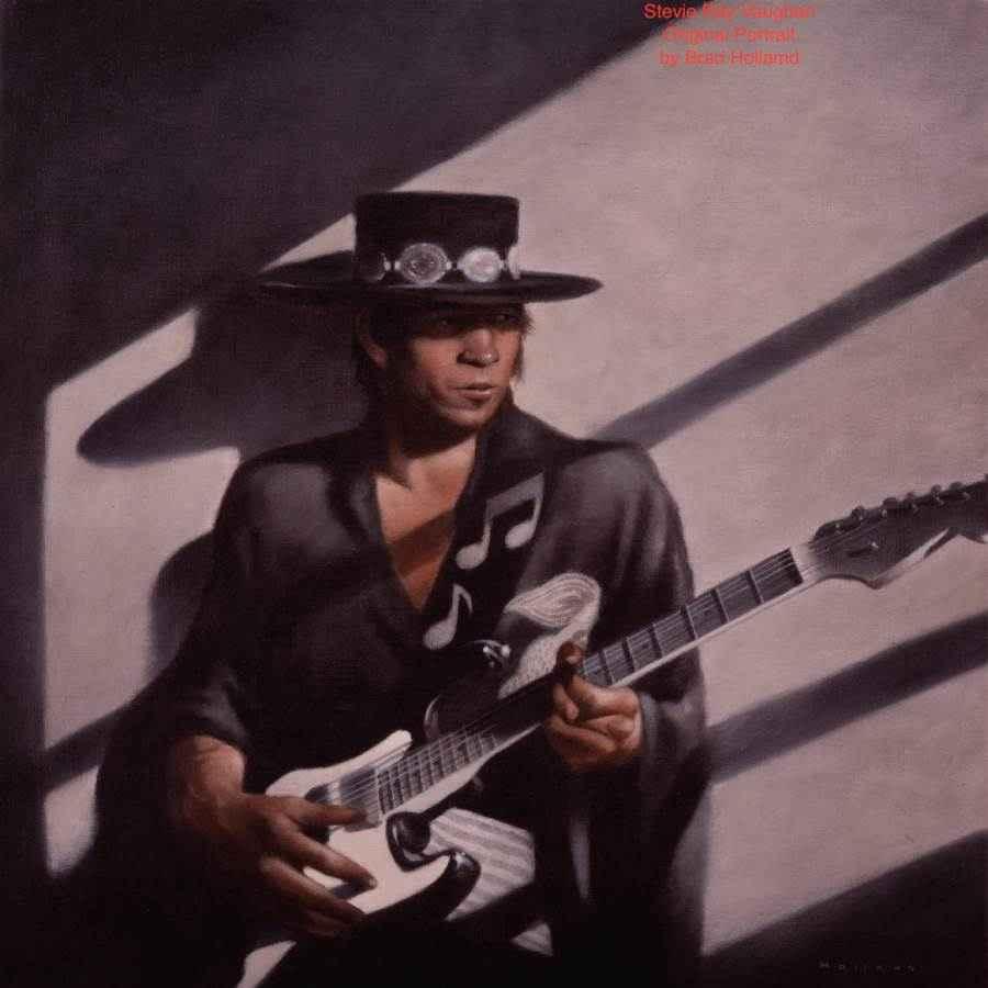 The Stevie Ray Vaughn...  by  Brad Holland