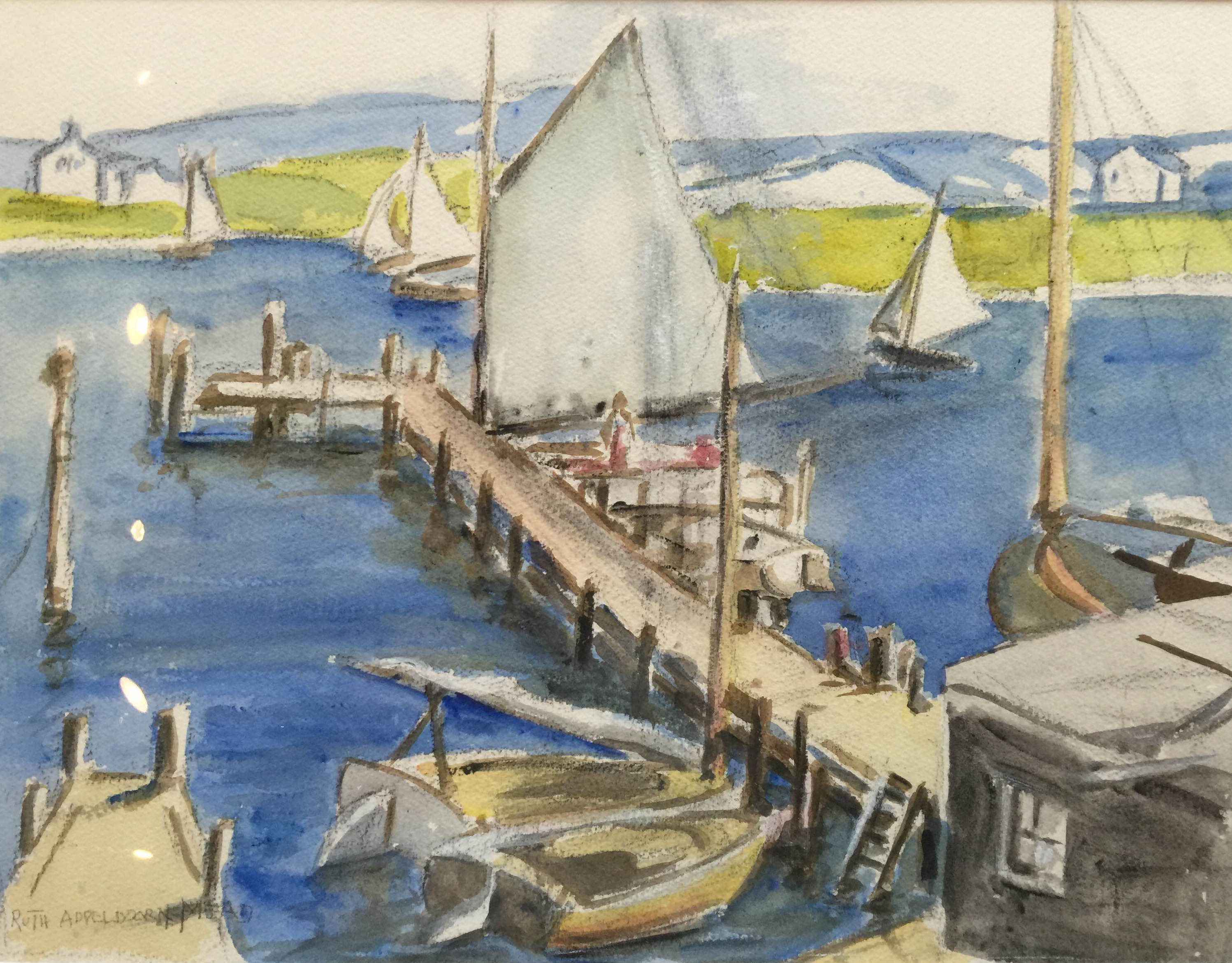One Sail by  Ruth Mead - Masterpiece Online