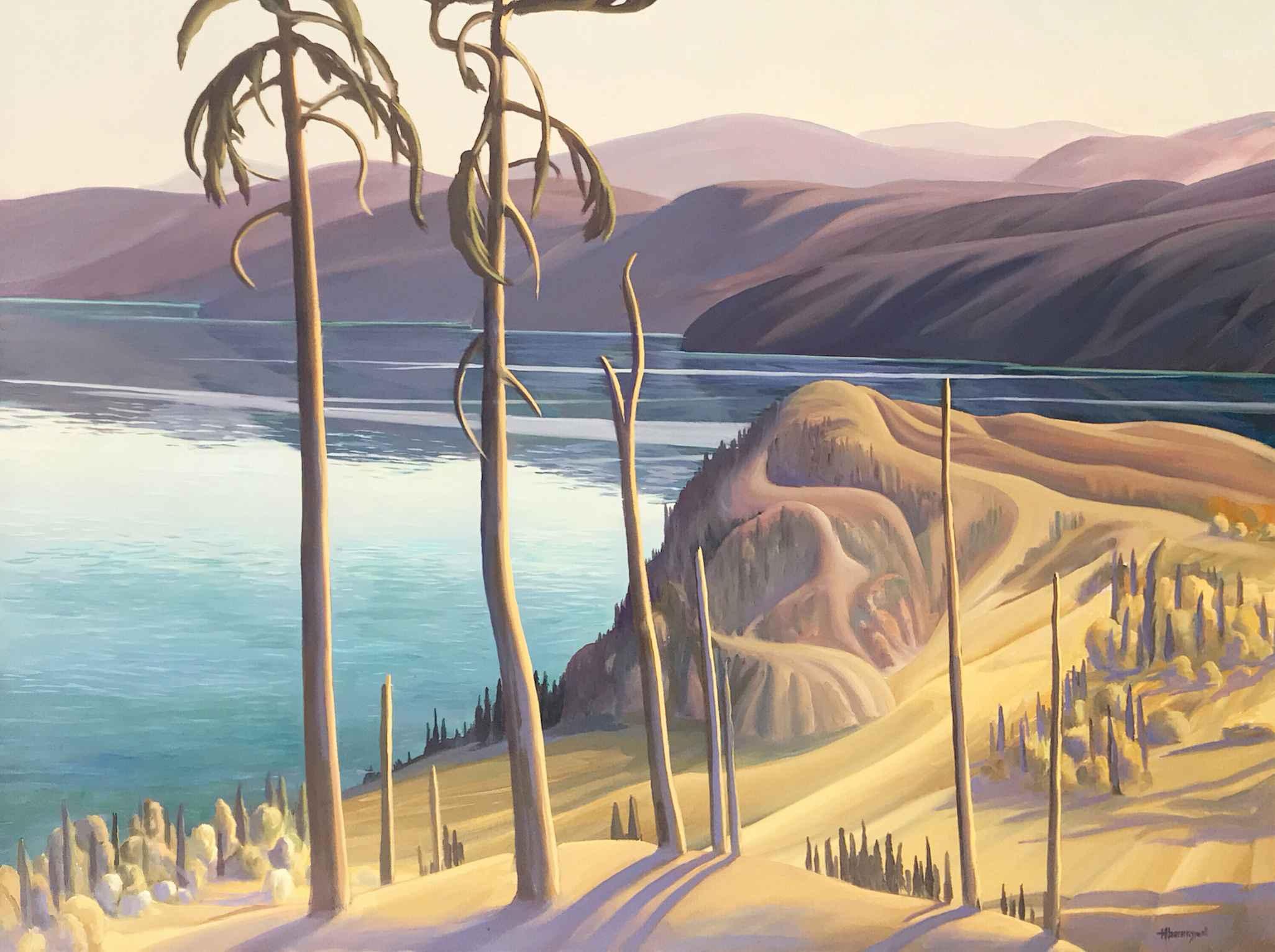 Beautiful Kalamalka L... by  Kenneth T Harrison - Masterpiece Online
