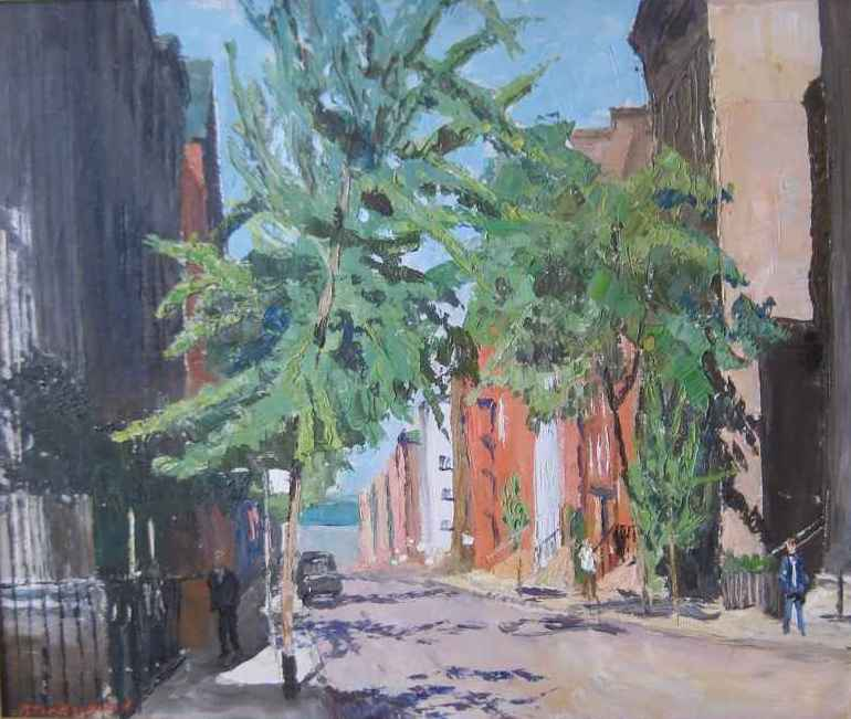 New York Scene II (Ci... by  Peter Hayward (1905-1993) - Masterpiece Online