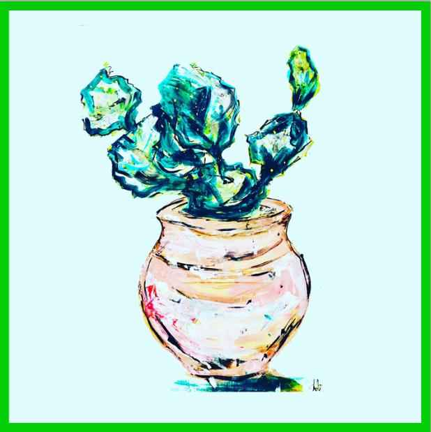 Cactus by  Nicolle Dhimes - Masterpiece Online