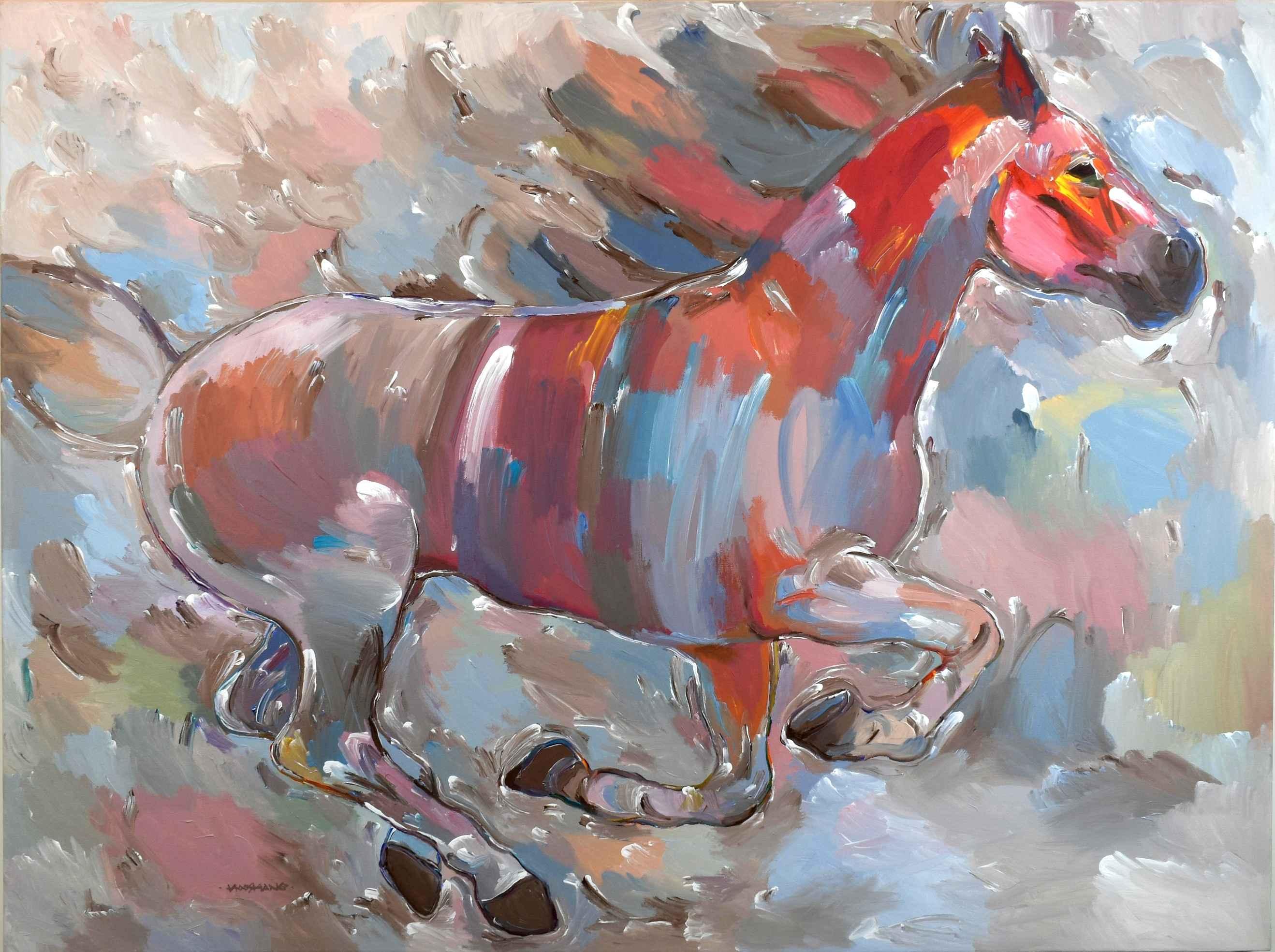 Power Runner by  Hooshang Khorasani - Masterpiece Online