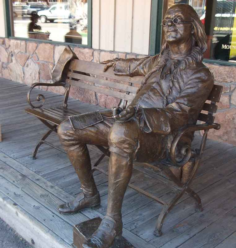 BEN FRANKLIN 17/40  by  Gary Lee Price