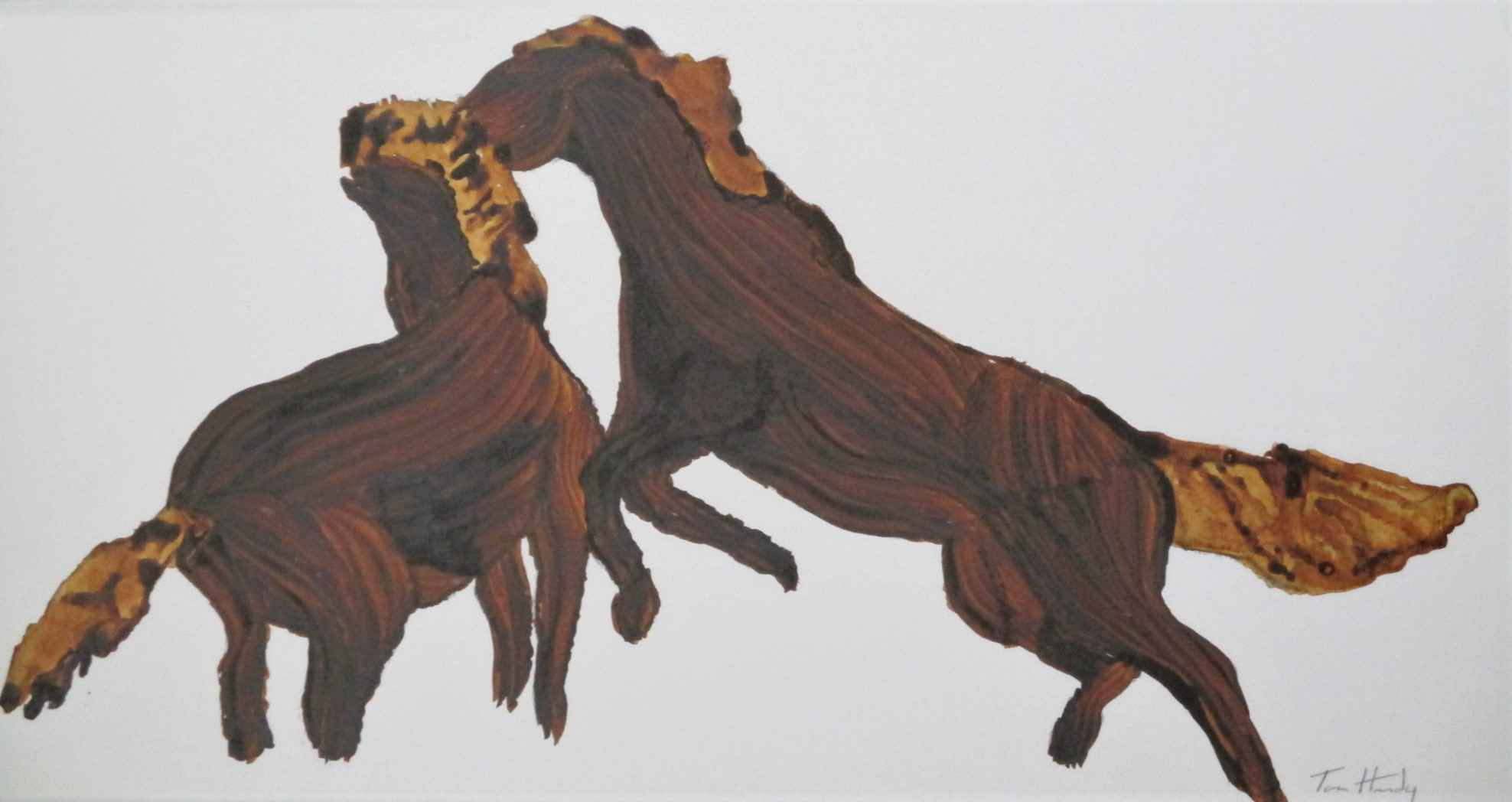 Unknown (2 horses) by  Tom Hardy - Masterpiece Online