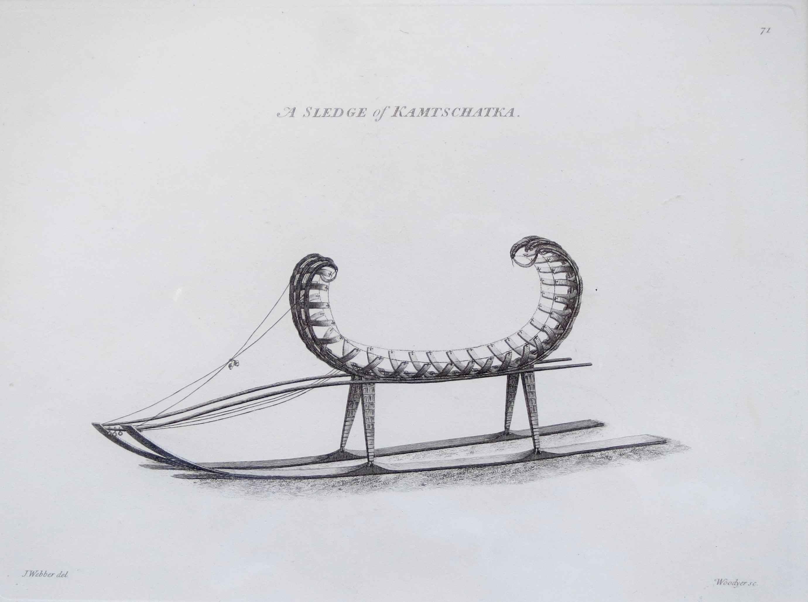 A Sledge of Kamtschat... by  John Webber (1752-1793) - Masterpiece Online