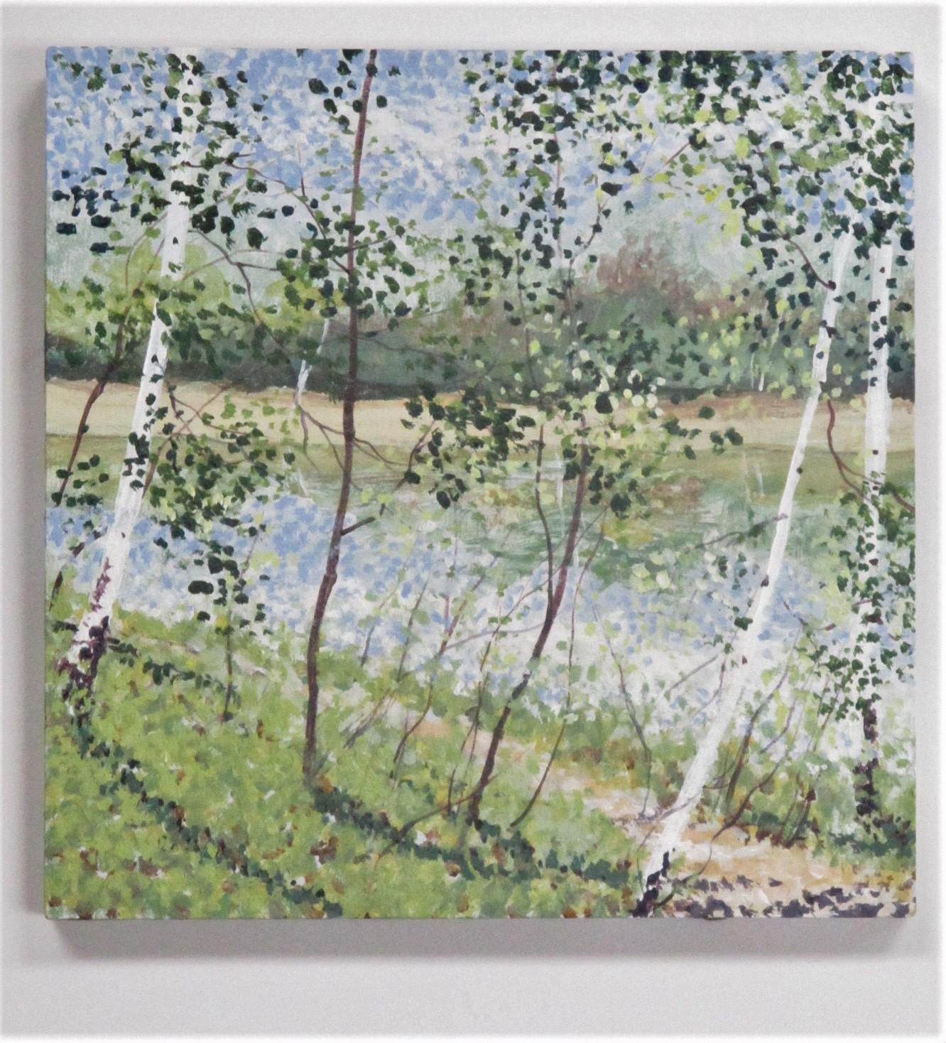 Untitled (birch trees) by  Angelita Surmon - Masterpiece Online