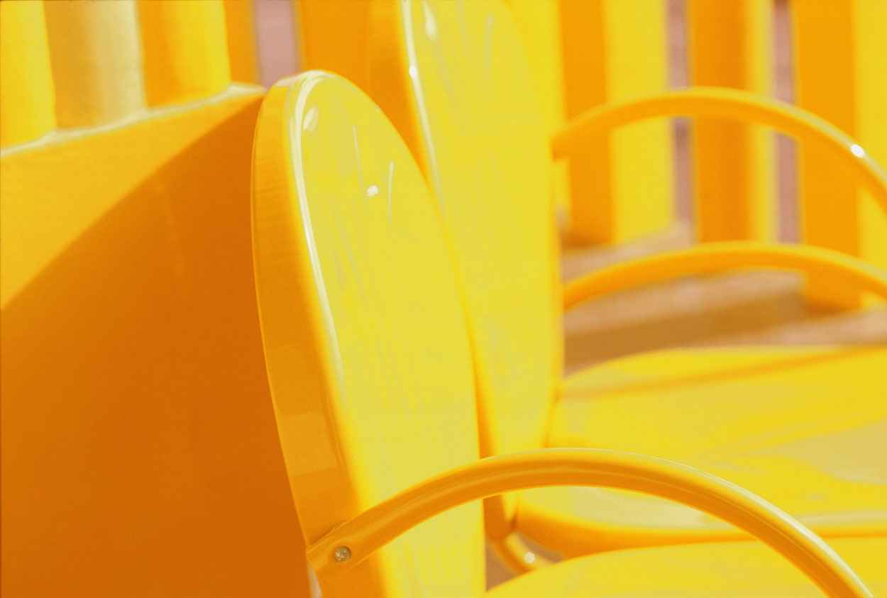 Yellow Chairs 1993 R1 by  Alison Shaw - Masterpiece Online