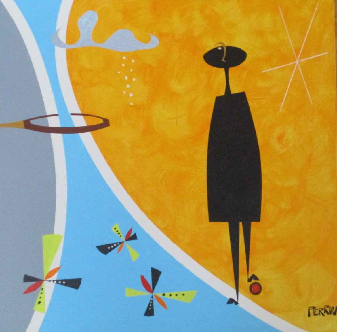 Unknown ( MCM man) by  George Perrou - Masterpiece Online