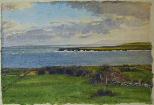 Fields and Headlands by  Kathleen Kolb - Masterpiece Online
