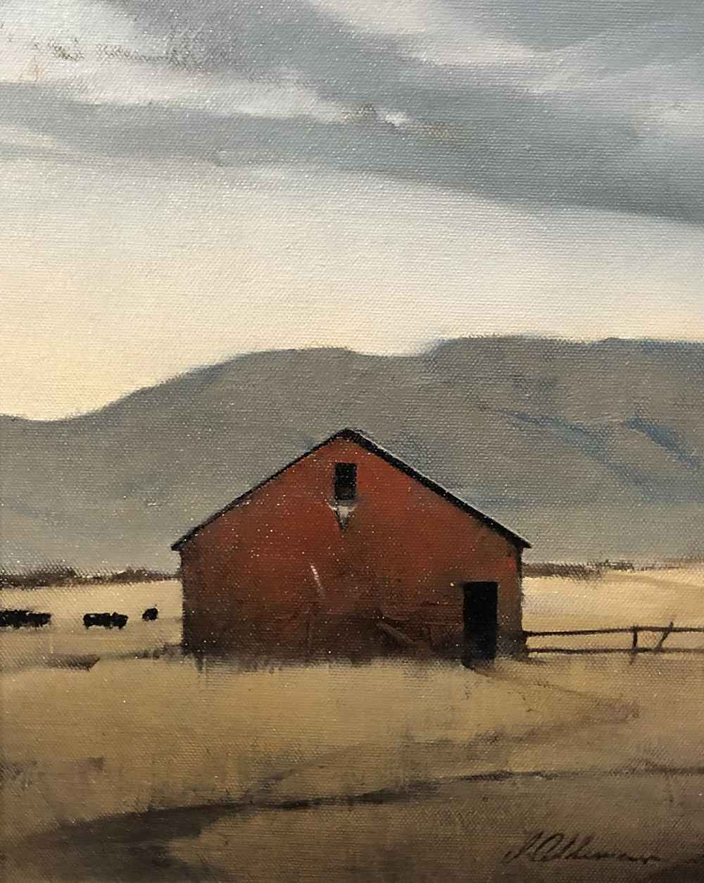 Western Skies  by  Joseph Alleman