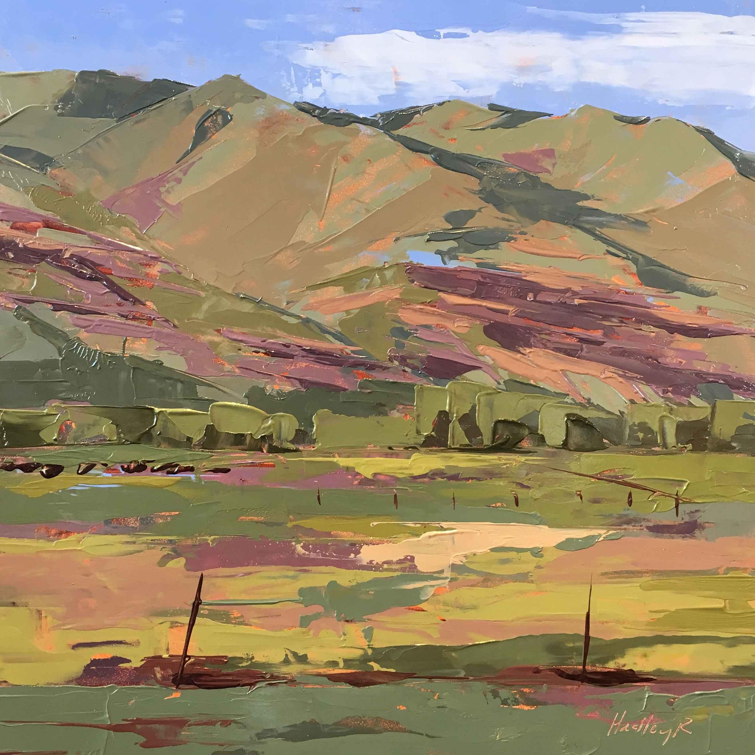 San Juans at Hermosa by  Hadley Rampton - Masterpiece Online