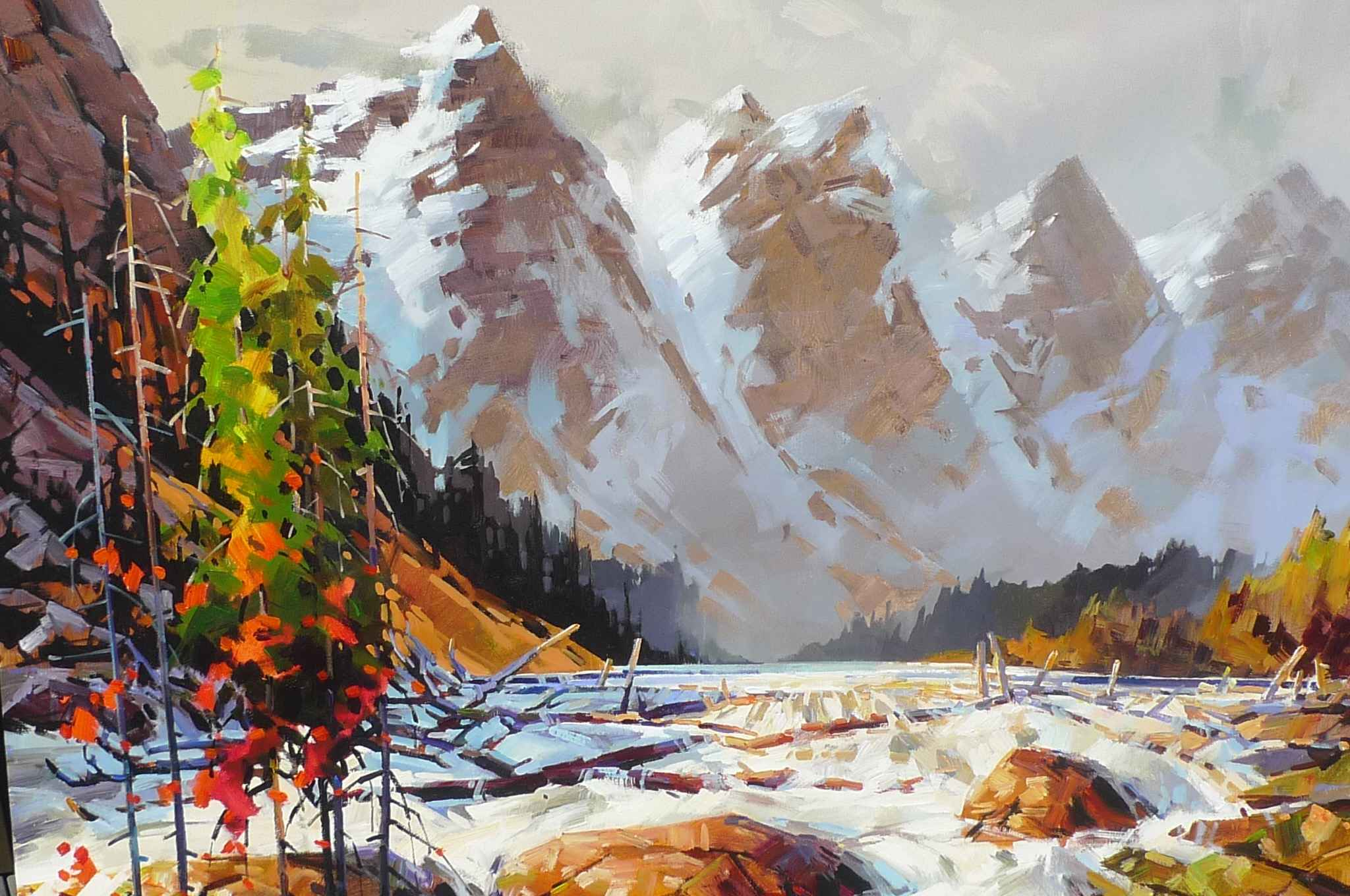 Moraine Lake Walk by  Bi Yuan Cheng - Masterpiece Online