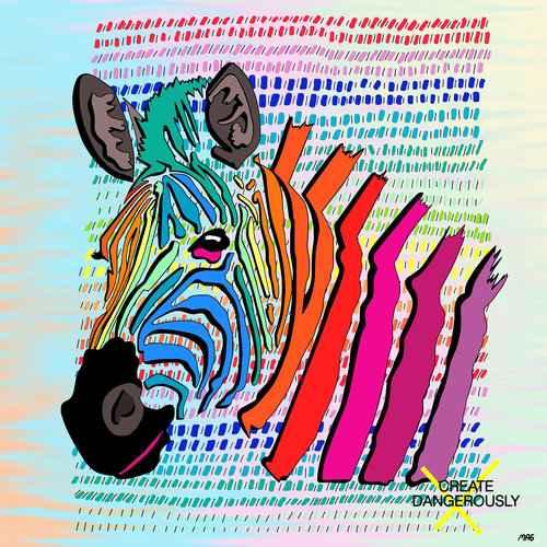 Zebra by  Molly Goldfarb - Masterpiece Online
