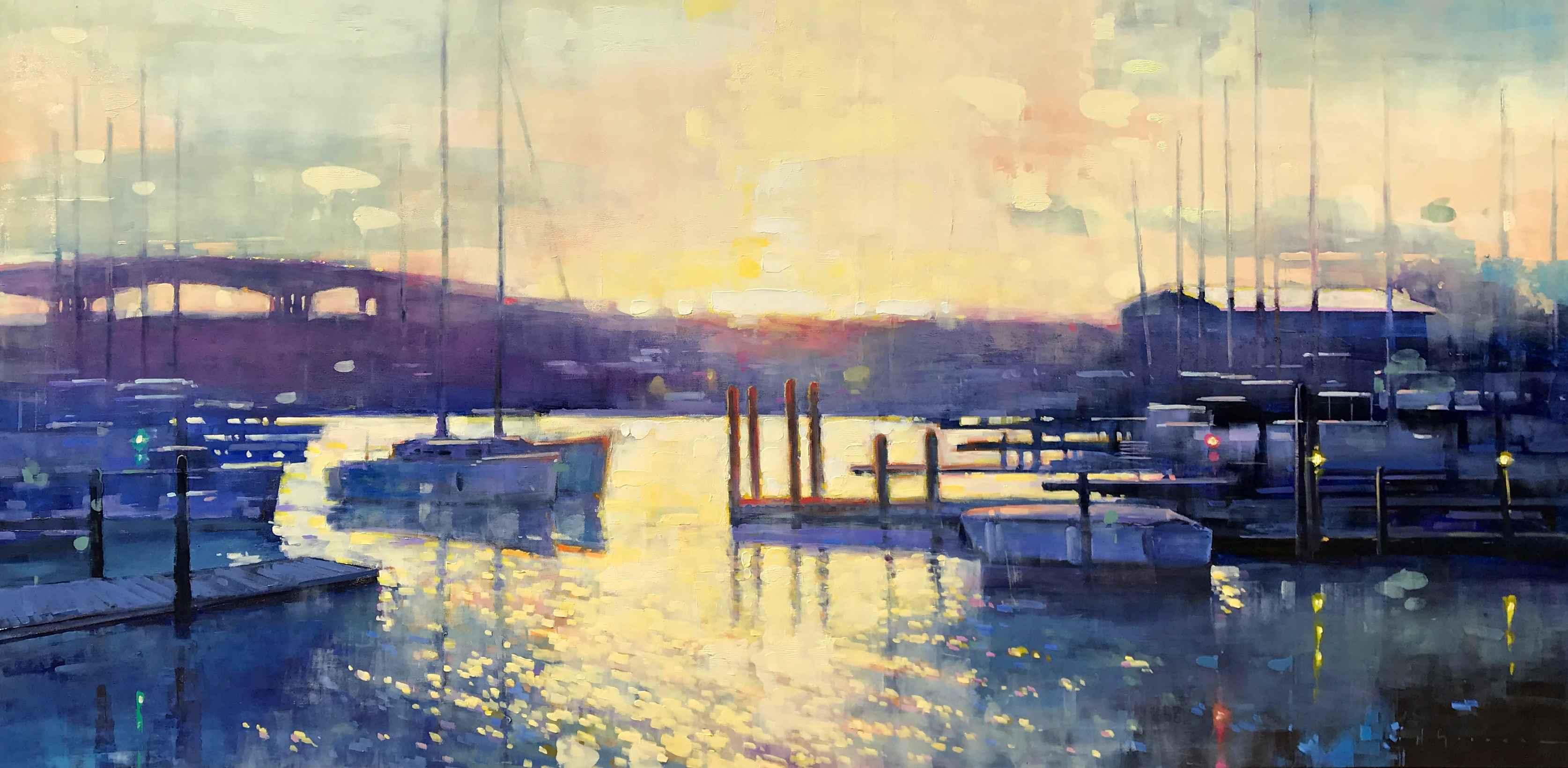 Sunlit Bay by Mr. Matt Sievers - Masterpiece Online