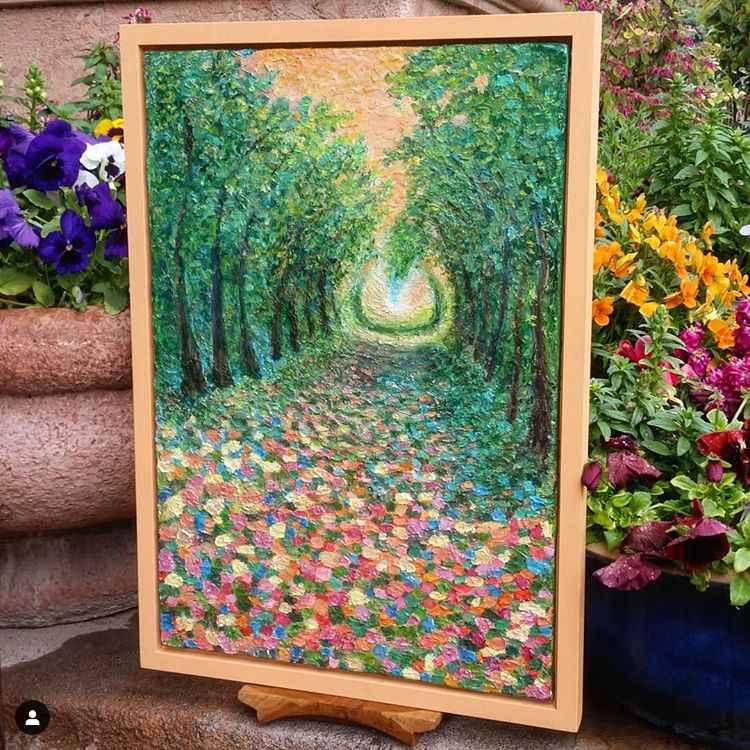 Spring Portal by  Gala Kraftsow - Masterpiece Online